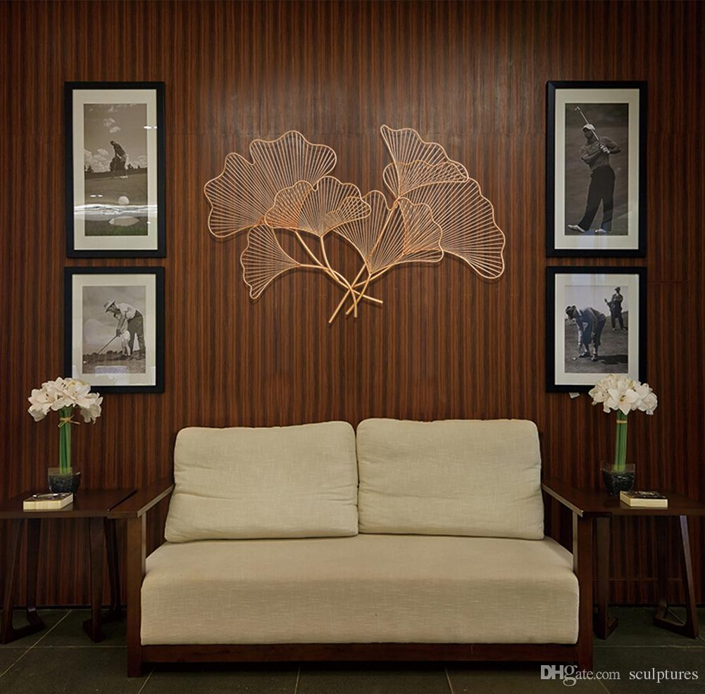 "20 Best Collection Of Tree Shell Leaves Sculpture Wall Decor In Grey ""eat"" Sign With Rebar Decor (Gallery 27 of 30)"