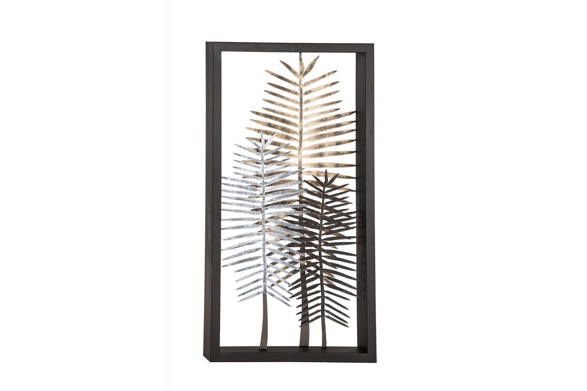 """20 Best Collection Of Tree Shell Leaves Sculpture Wall Decor Throughout Grey """"eat"""" Sign With Rebar Decor (View 23 of 30)"""