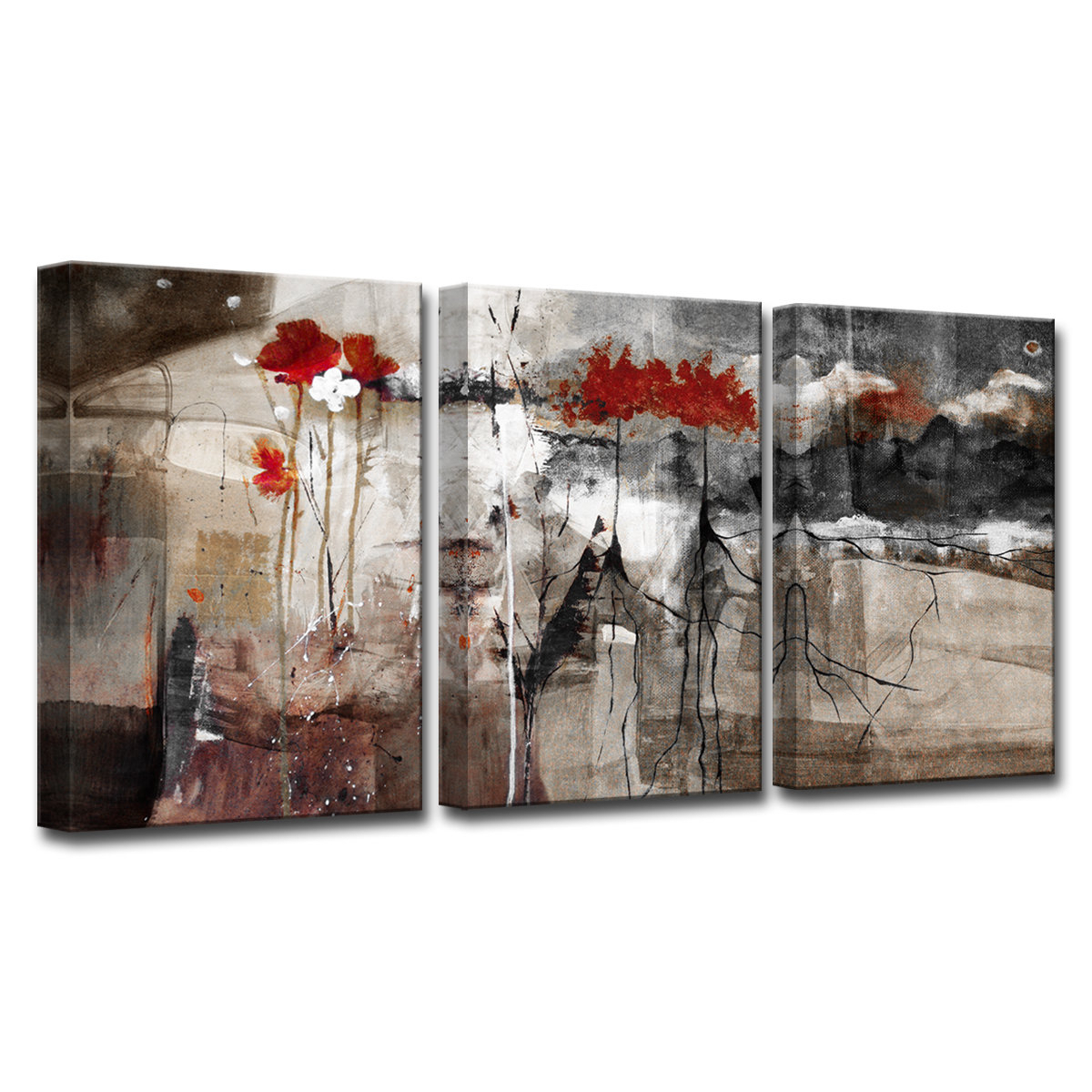 2019 Best Of 3 Piece Wall Decor Setswrought Studio with regard to 3 Piece Wall Decor Sets by Wrought Studio (Image 10 of 30)