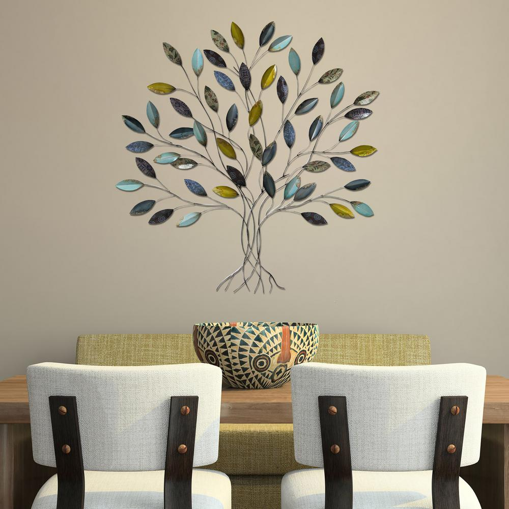2019 Popular Windswept Tree Wall Decor For Windswept Tree Wall Decor By World Menagerie (View 6 of 30)