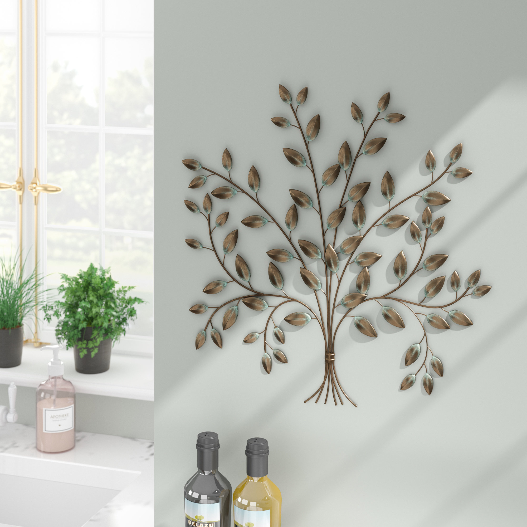 2019 Popular Windswept Tree Wall Decor In Windswept Tree Wall Decor By World Menagerie (View 4 of 30)