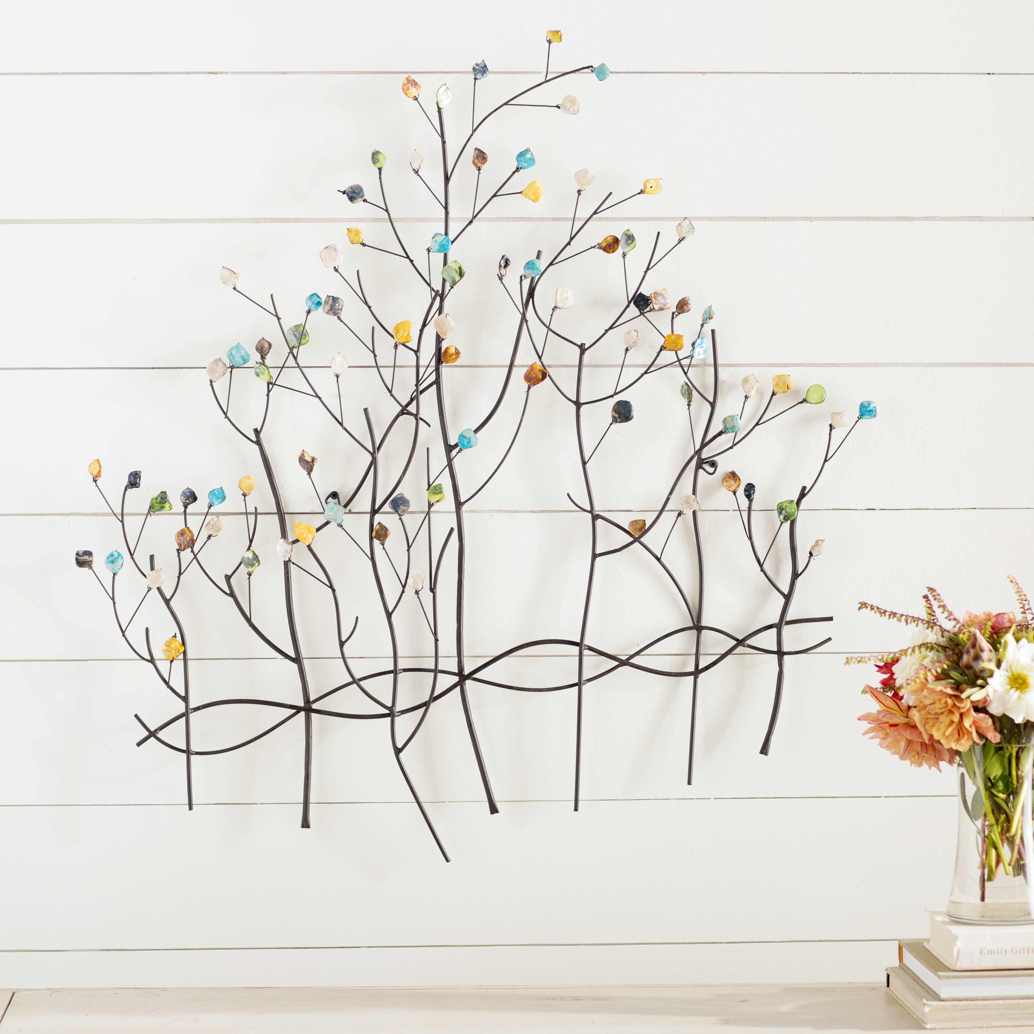 2019 Popular Windswept Tree Wall Decor pertaining to Metal Wall Decor by Winston Porter (Image 1 of 30)