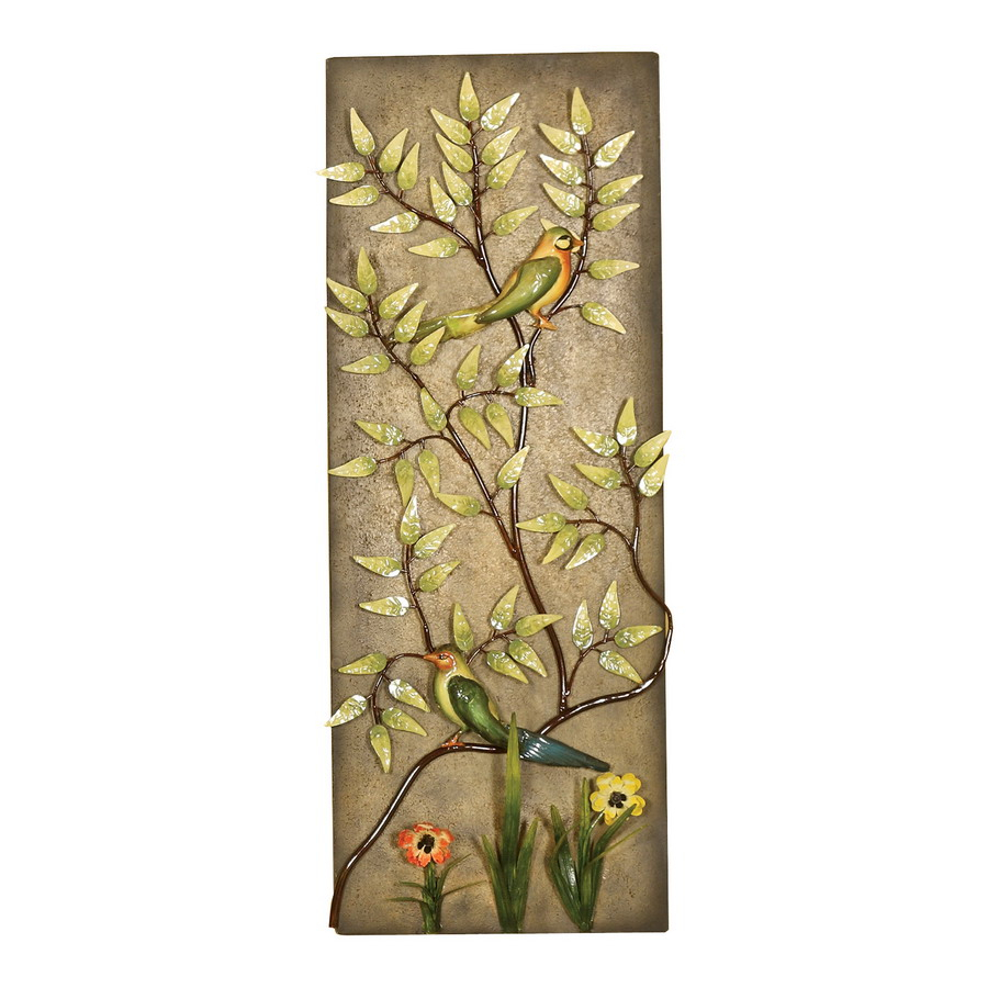 2154 – Floral Metal Wall Decor – Passport Accent Furniture Inside Oil Rubbed Metal Wall Decor (View 24 of 30)