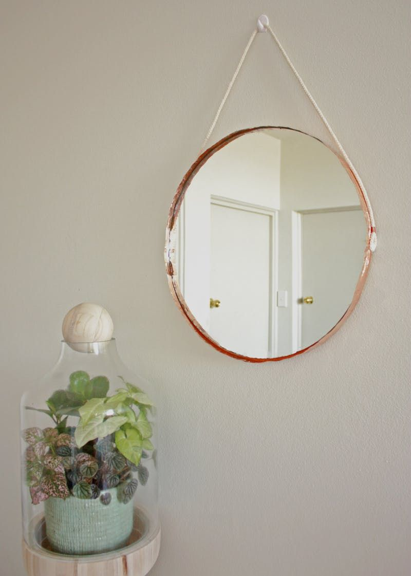 25 On-The-Cheap Diy Ideas To Make Your Living Room Look for Rhein Accent Mirrors (Image 1 of 30)