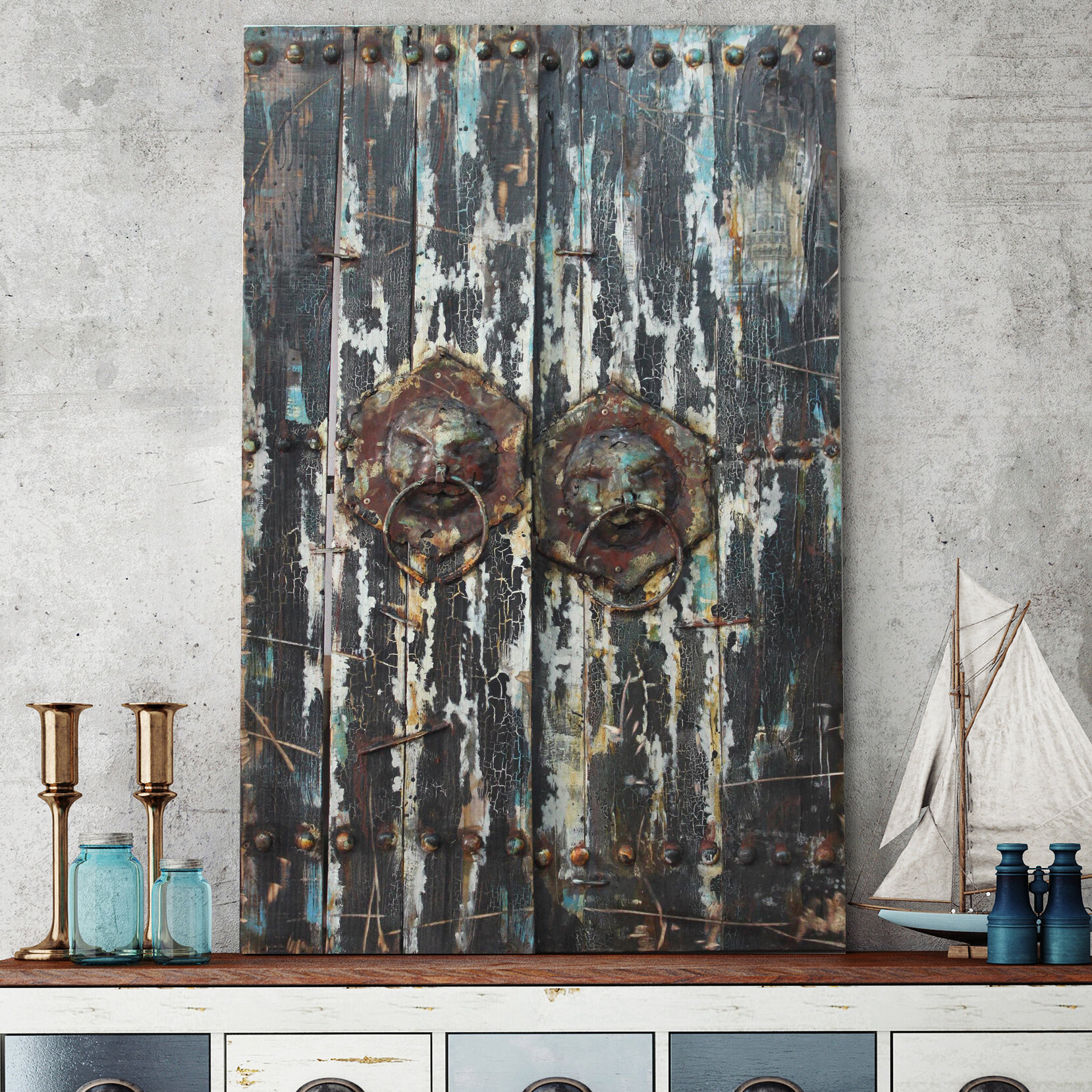 "3 Dimensional Wood Wall Art | Wayfair pertaining to ""Bridge to the City"" Mixed Media Iron Hand Painted Dimensional Wall Decor (Image 11 of 30)"