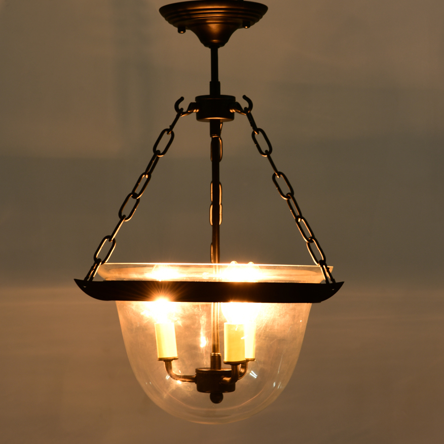 3 Light Black Glass Mini Urn Led Pendant with regard to 3-Light Single Urn Pendants (Image 1 of 30)