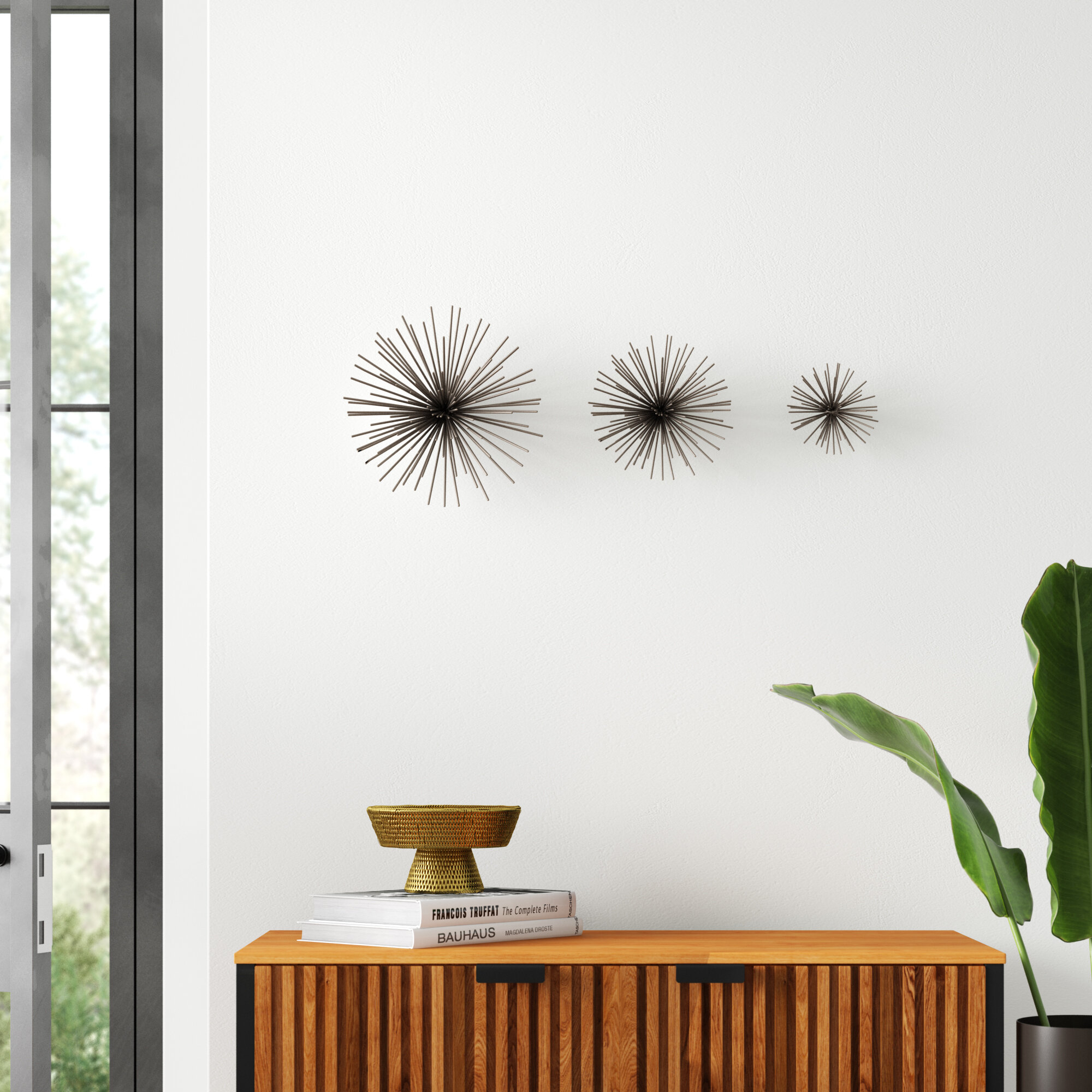 3 Piece Star Iron Wall Décor Set Pertaining To 3 Piece Star Wall Decor Sets (View 12 of 30)