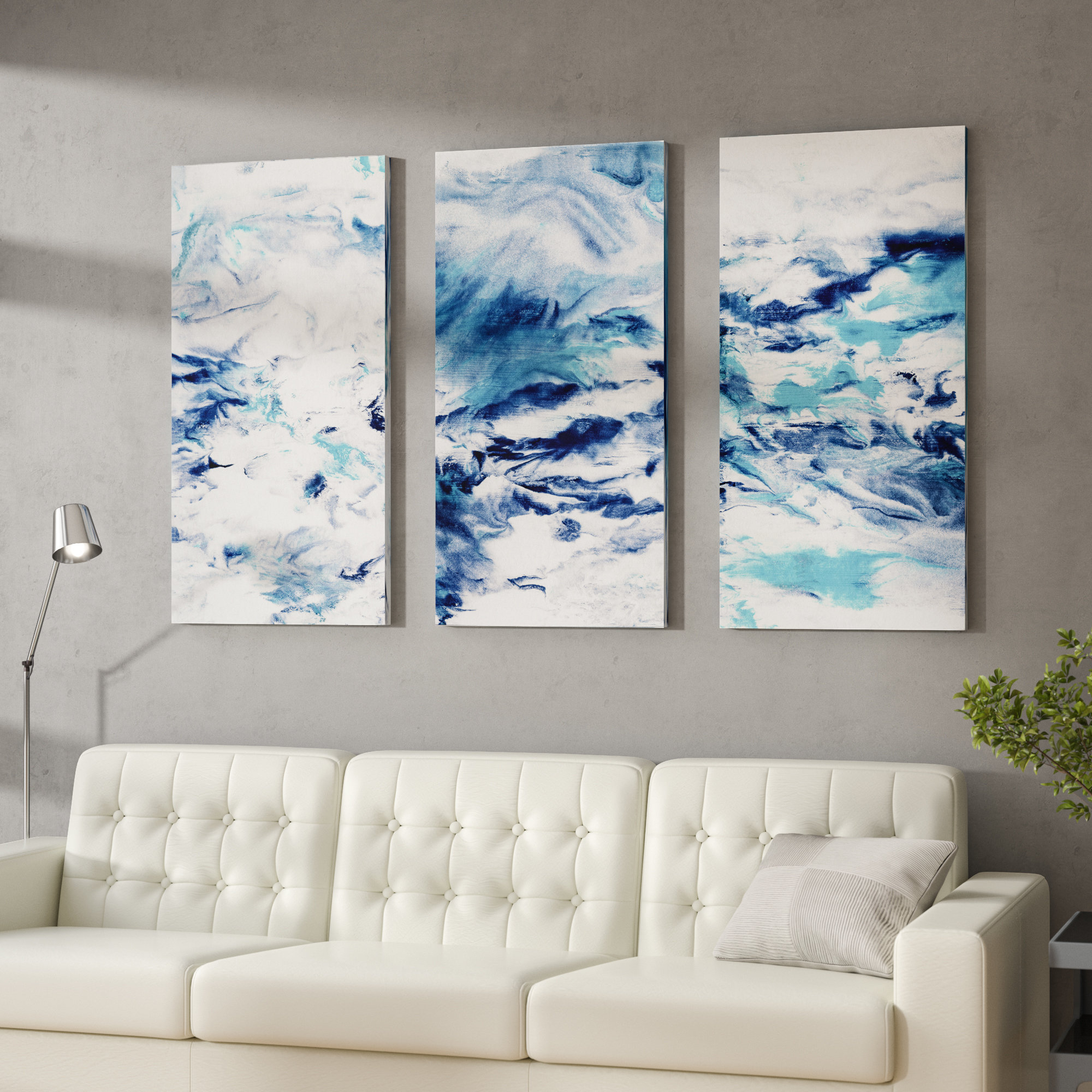 3 Piece Wall Art You'll Love In 2019 | Wayfair for 3 Piece Wall Decor Sets by Wrought Studio (Image 14 of 30)