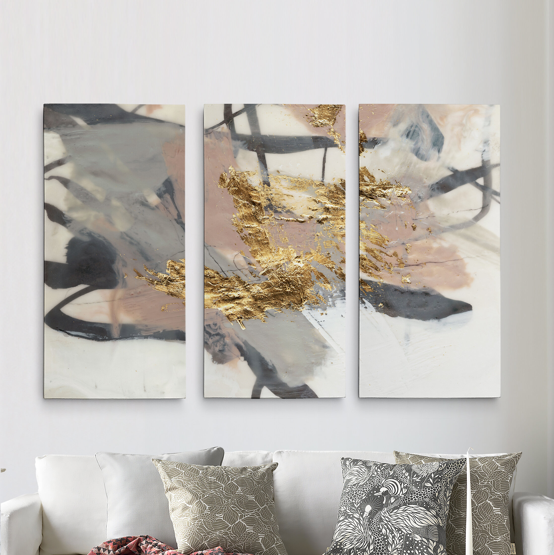 3 Piece Wall Art You'll Love In 2019 | Wayfair with 3 Piece Wall Decor Sets by Wrought Studio (Image 15 of 30)
