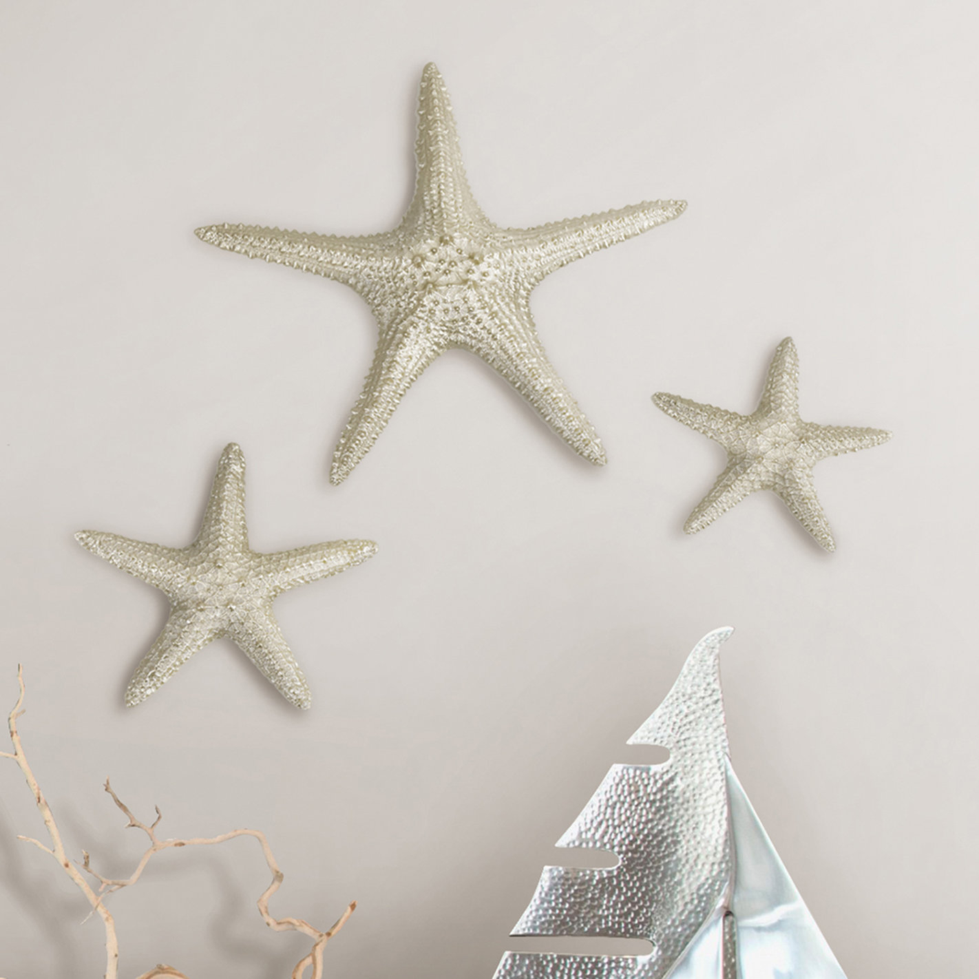 3 Piece Wall Decor Set | Wayfair Pertaining To 3 Piece Star Wall Decor Sets (View 3 of 30)