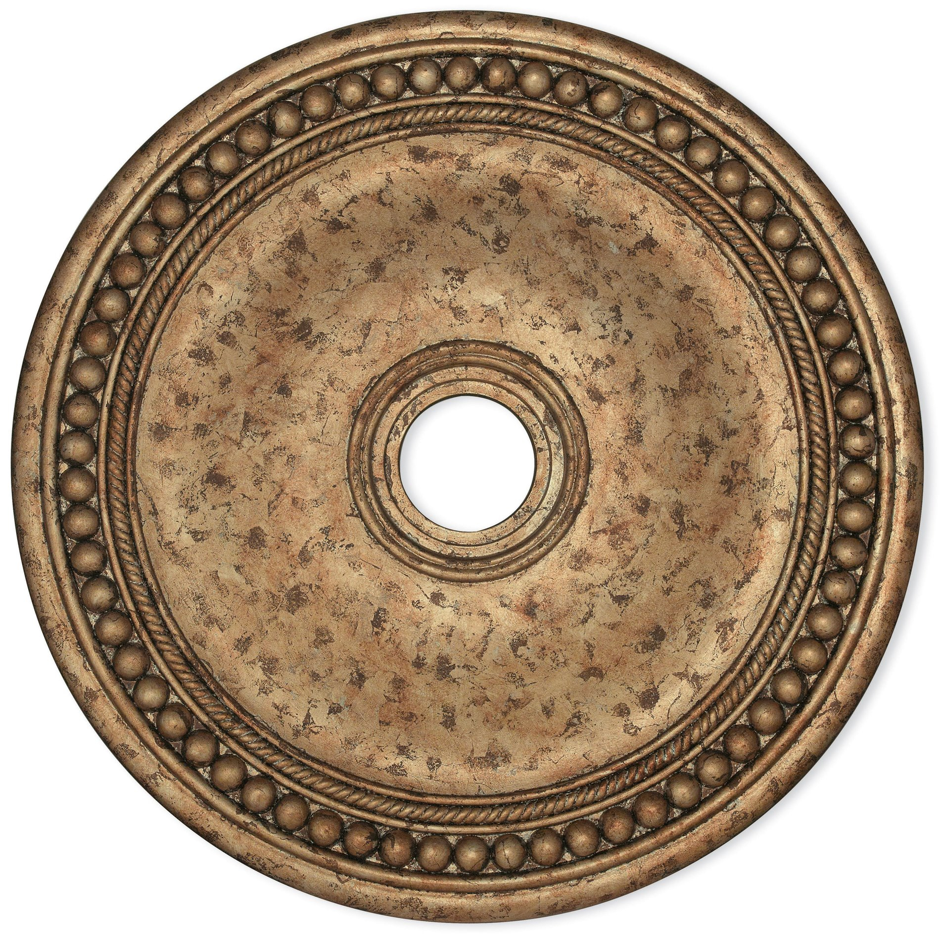 "30"" European Bronze Ceiling Medallion in European Medallion Wall Decor (Image 3 of 30)"