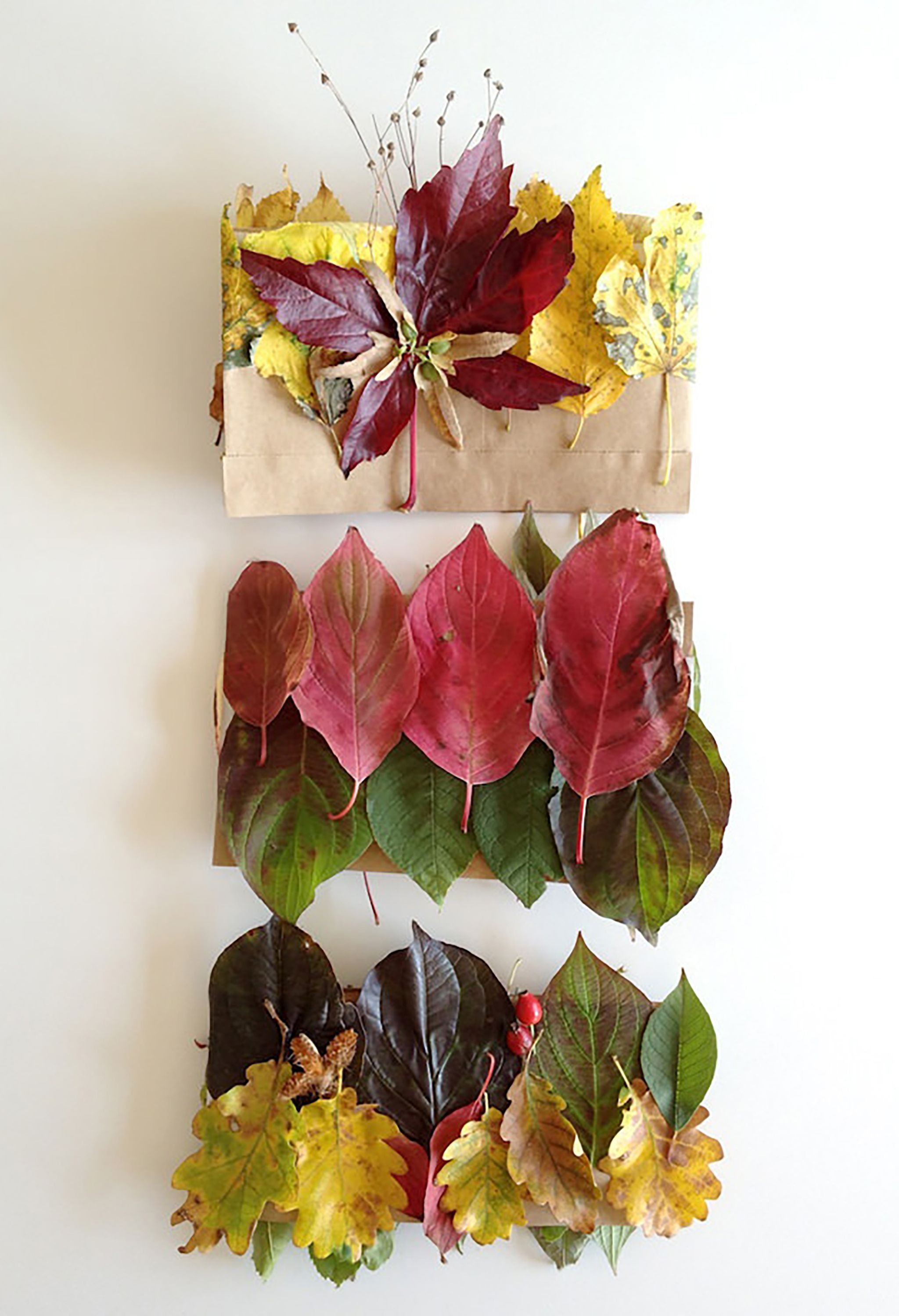 37 Best Fall Leaf Craft Ideas – Diy Decorating Projects With Within Scroll Leaf Wall Decor (View 4 of 30)