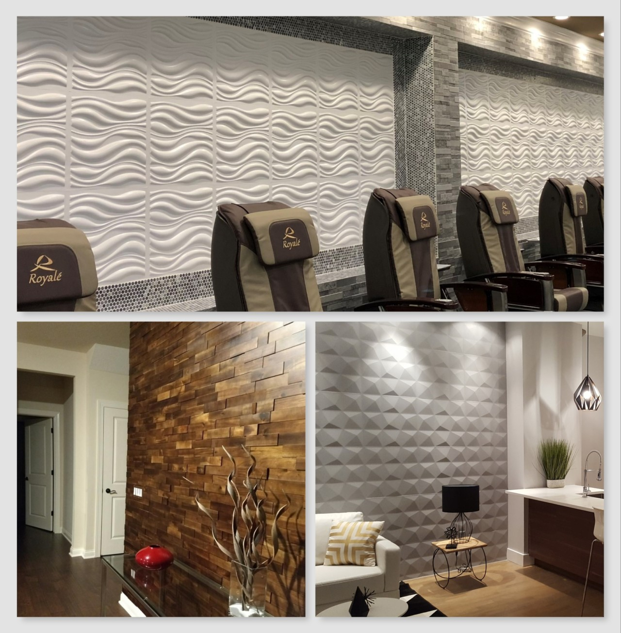 3d Wall Panels – Decorative Wall Paneling – Wood Wall Panels Within Raised Star Wall Decor (View 11 of 30)