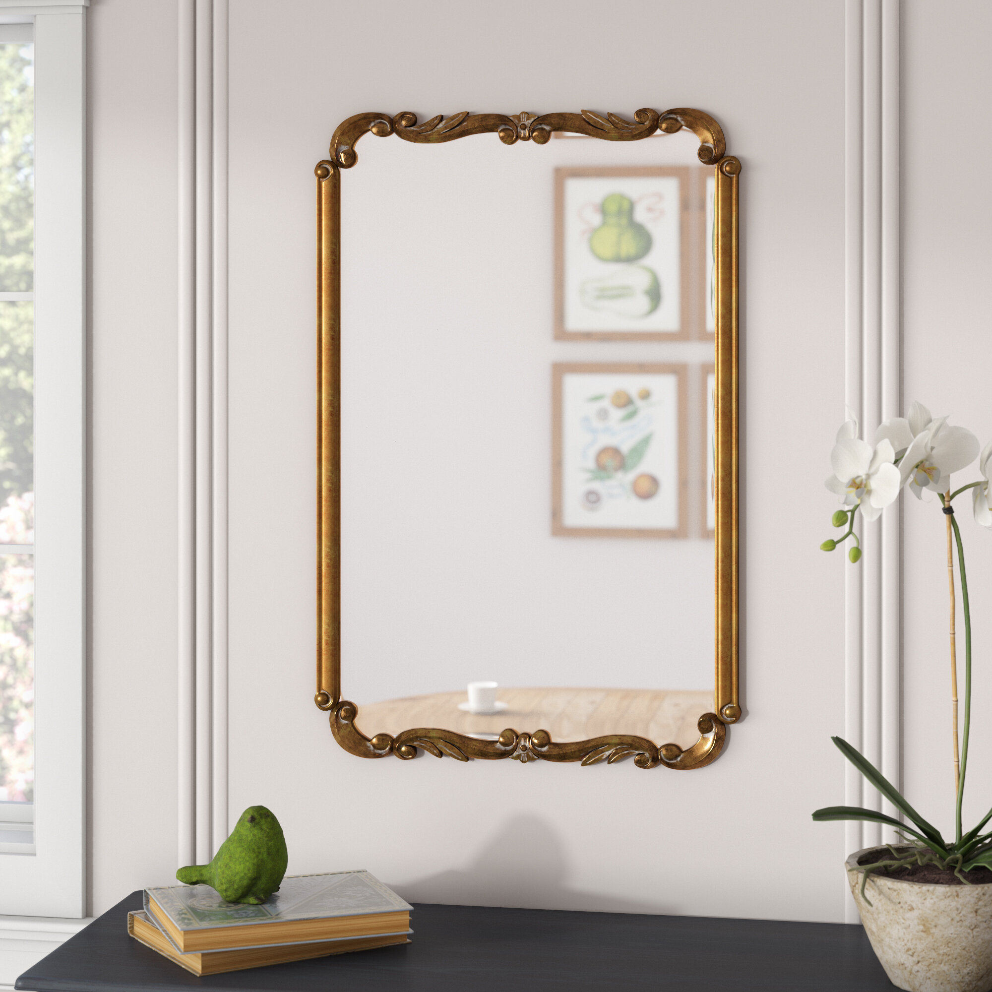 3X5 Mirror | Wayfair with regard to Pennsburg Rectangle Wall Mirrors (Image 2 of 30)