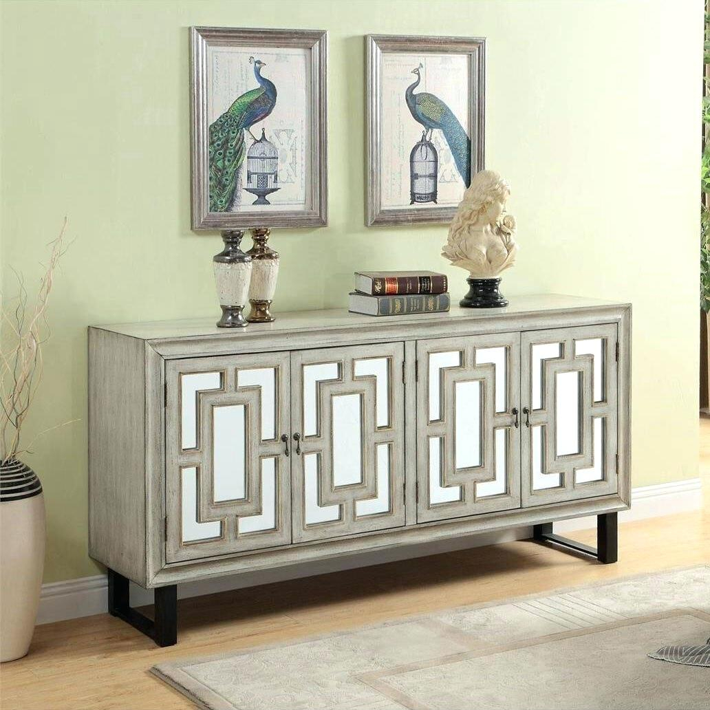 4 Door Credenza – Canapes With Elyza Credenzas (View 7 of 30)