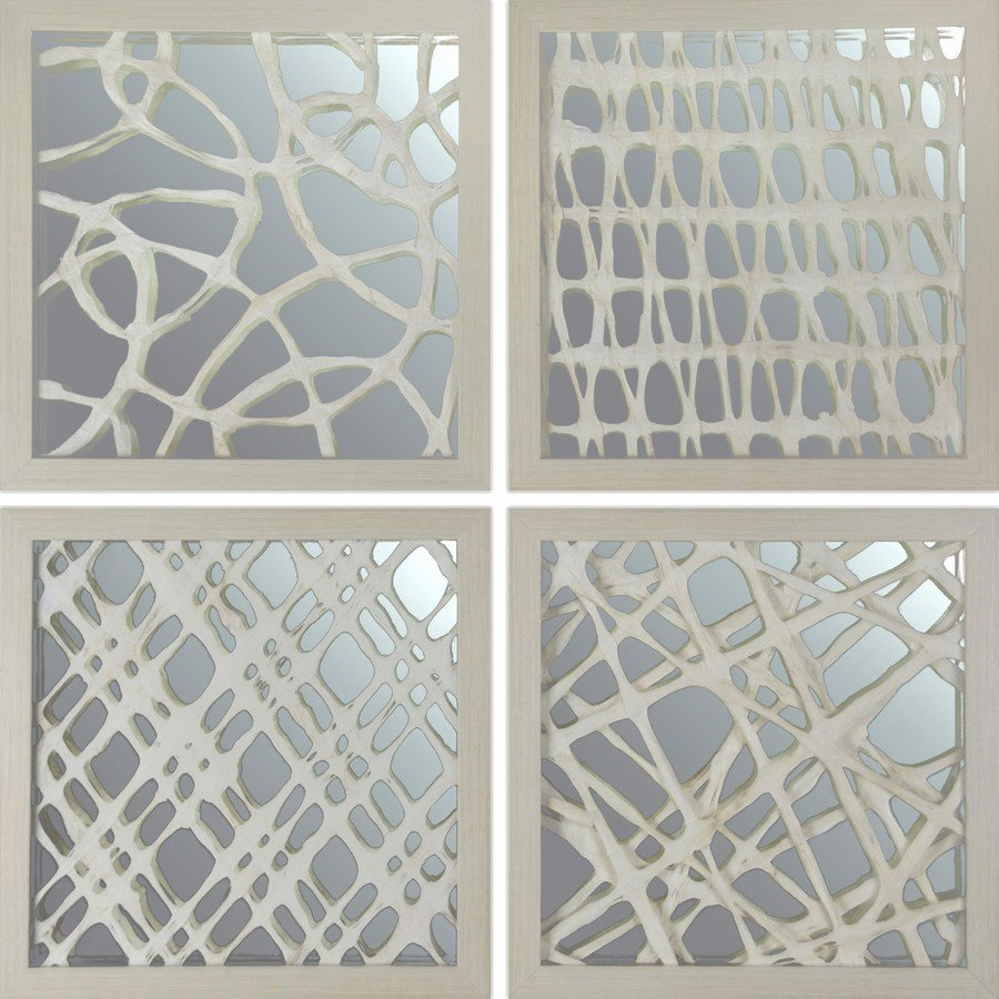 4 Piece Space Paper Art Wall Décor Set With 4 Piece Wall Decor Sets (View 18 of 30)