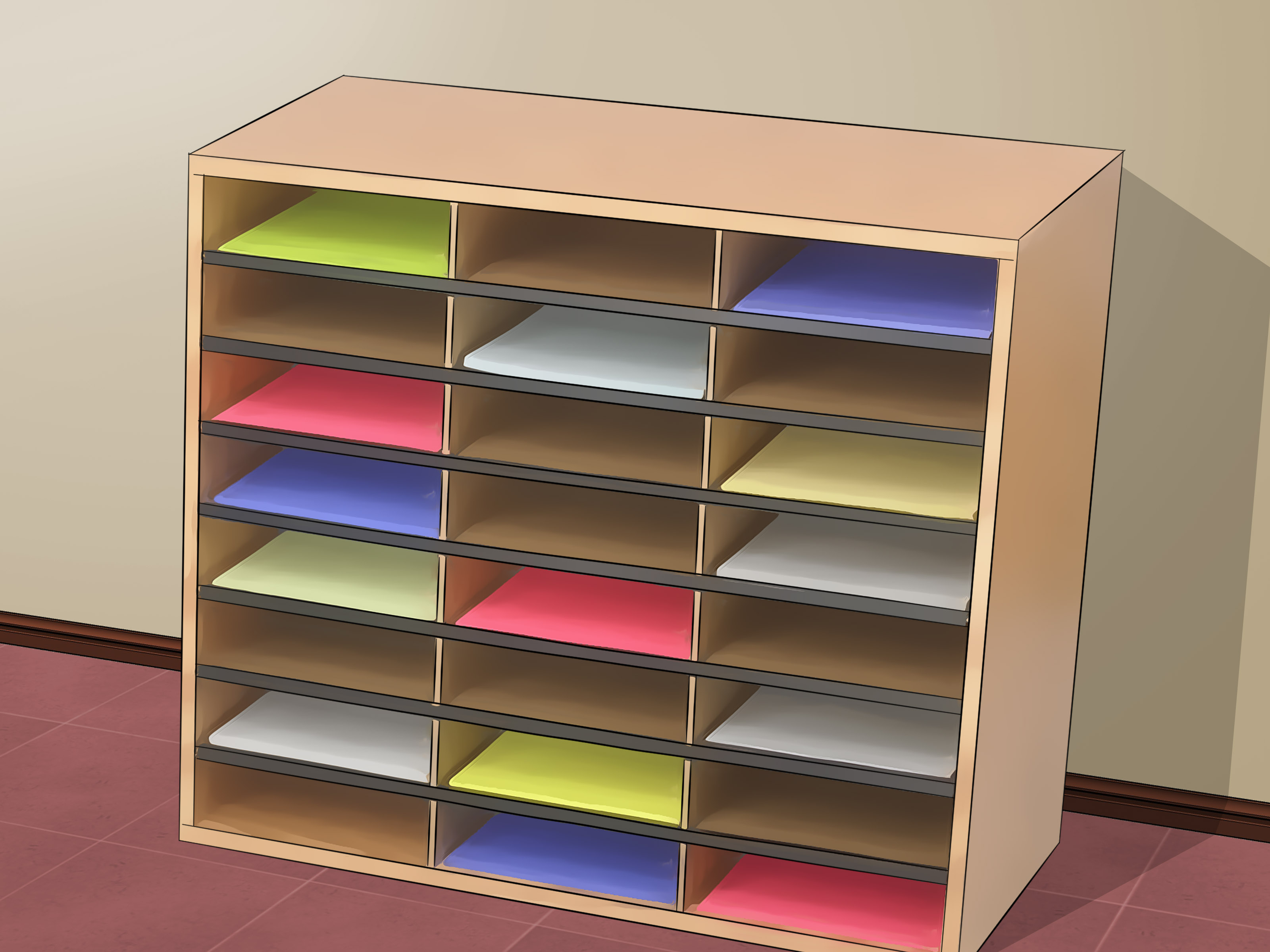 """4 Ways To Decorate A Classroom - Wikihow regarding In-a-Word """"welcome"""" Wall Decor (Image 3 of 30)"""