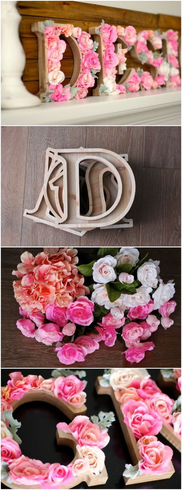 40+ Rustic Wall Decorations For Adding Warmth To Your Home for Floral Wreath Wood Framed Wall Decor (Image 7 of 30)