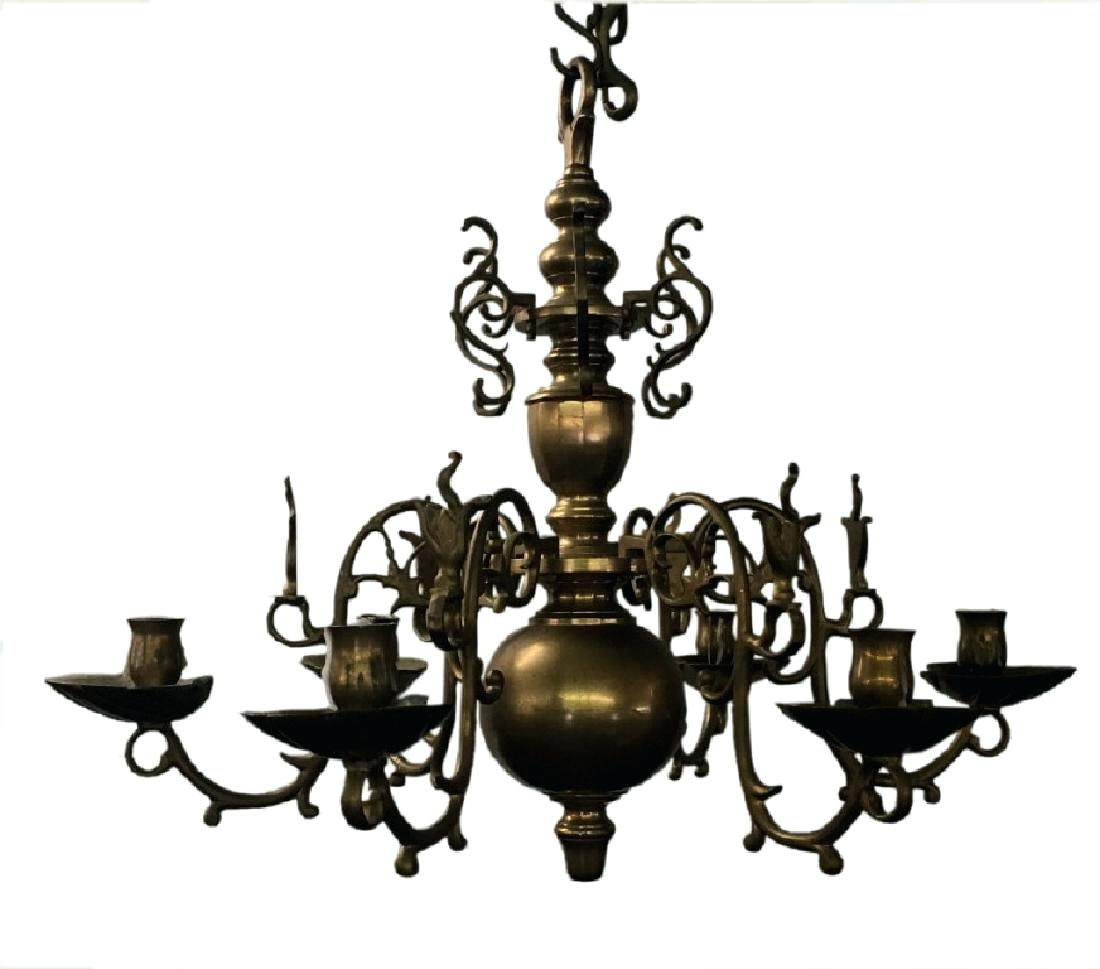 5 Candle Chandelier – Purrfectcatgifts (View 19 of 30)