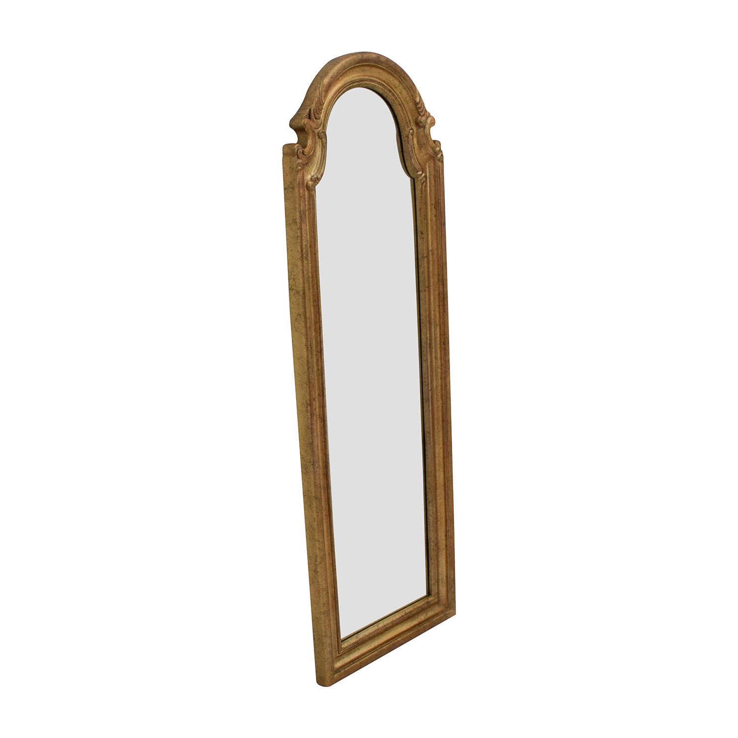59% Off – Bombay Company Bombay Co Antique Gold Wall Mirror / Decor Regarding Gold Arch Wall Mirrors (View 2 of 30)