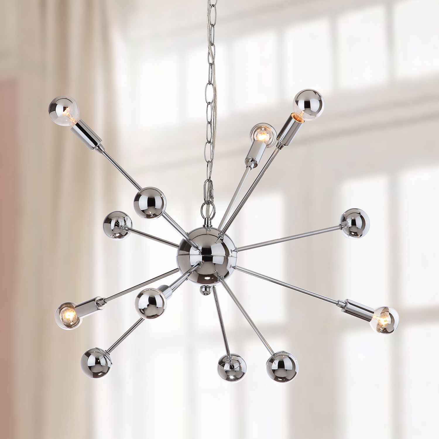 6 Light Starburst Sputnik Pendant Light | Products For Eladia 6 Light Sputnik Chandeliers (Gallery 25 of 30)