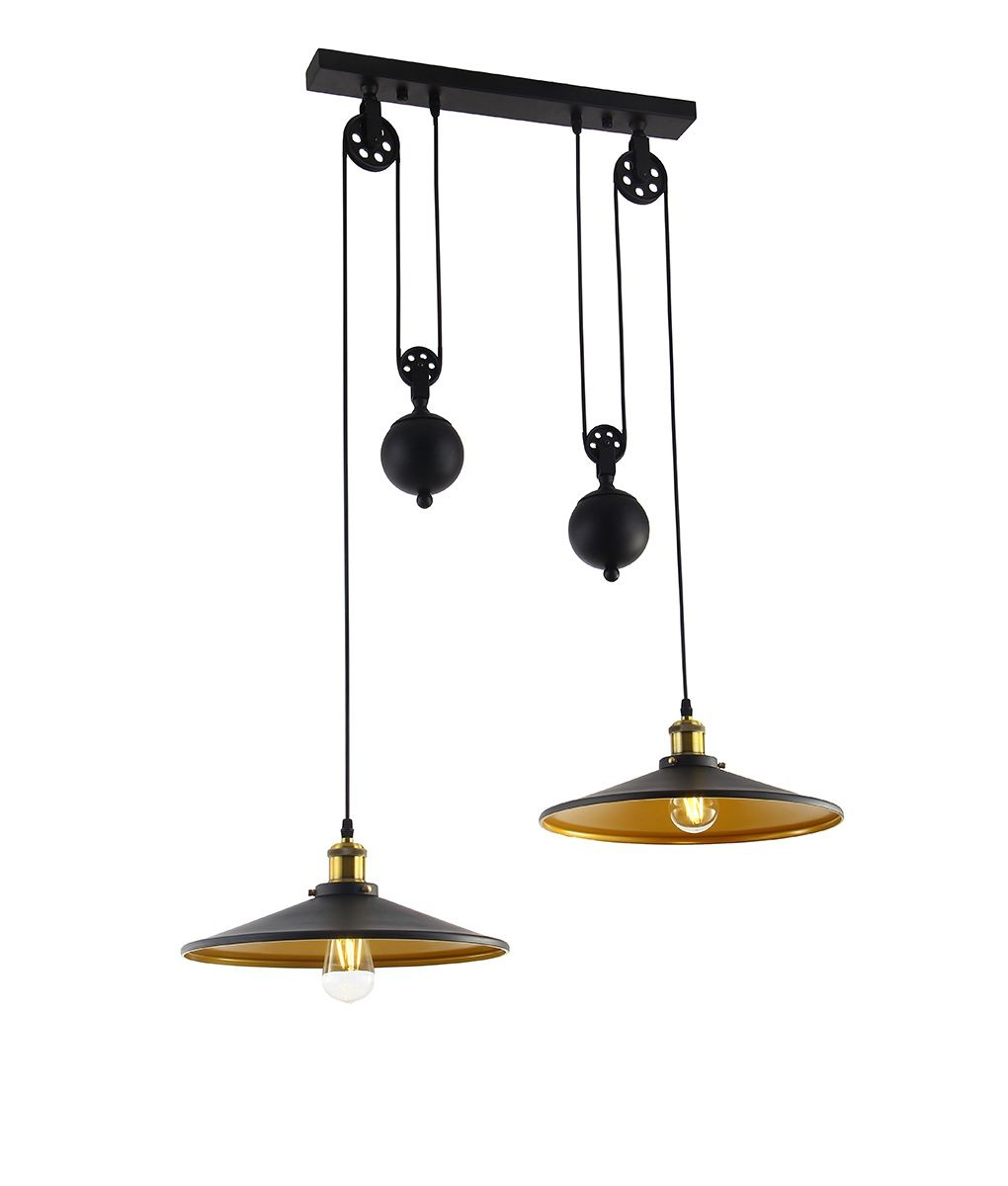 A Metal Rise And Fall Pendant Ideal For Dining Tables Or For Ariel 3 Light Kitchen Island Dome Pendants (Image 5 of 30)