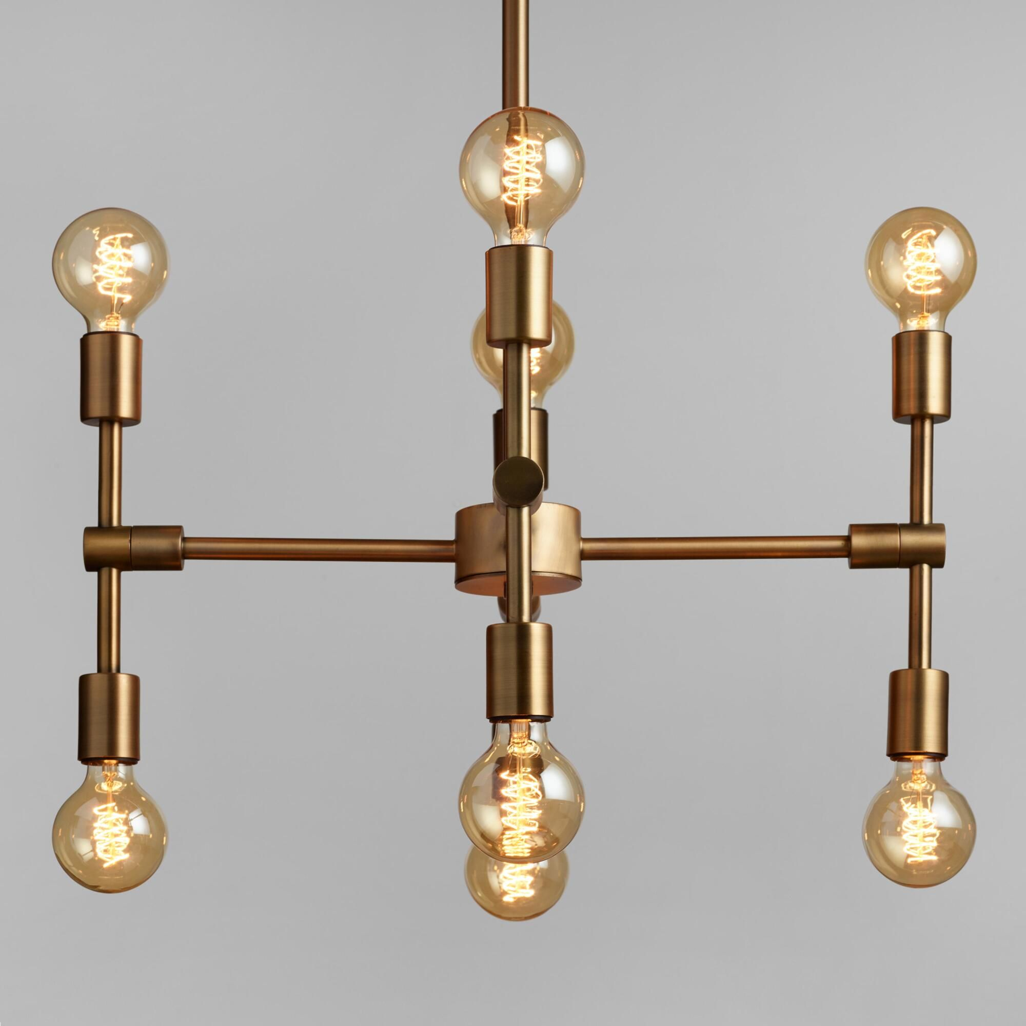 A Mid Century Modern Inspired Marvel Of Form And Function In Bautista 6 Light Kitchen Island Bulb Pendants (View 3 of 30)