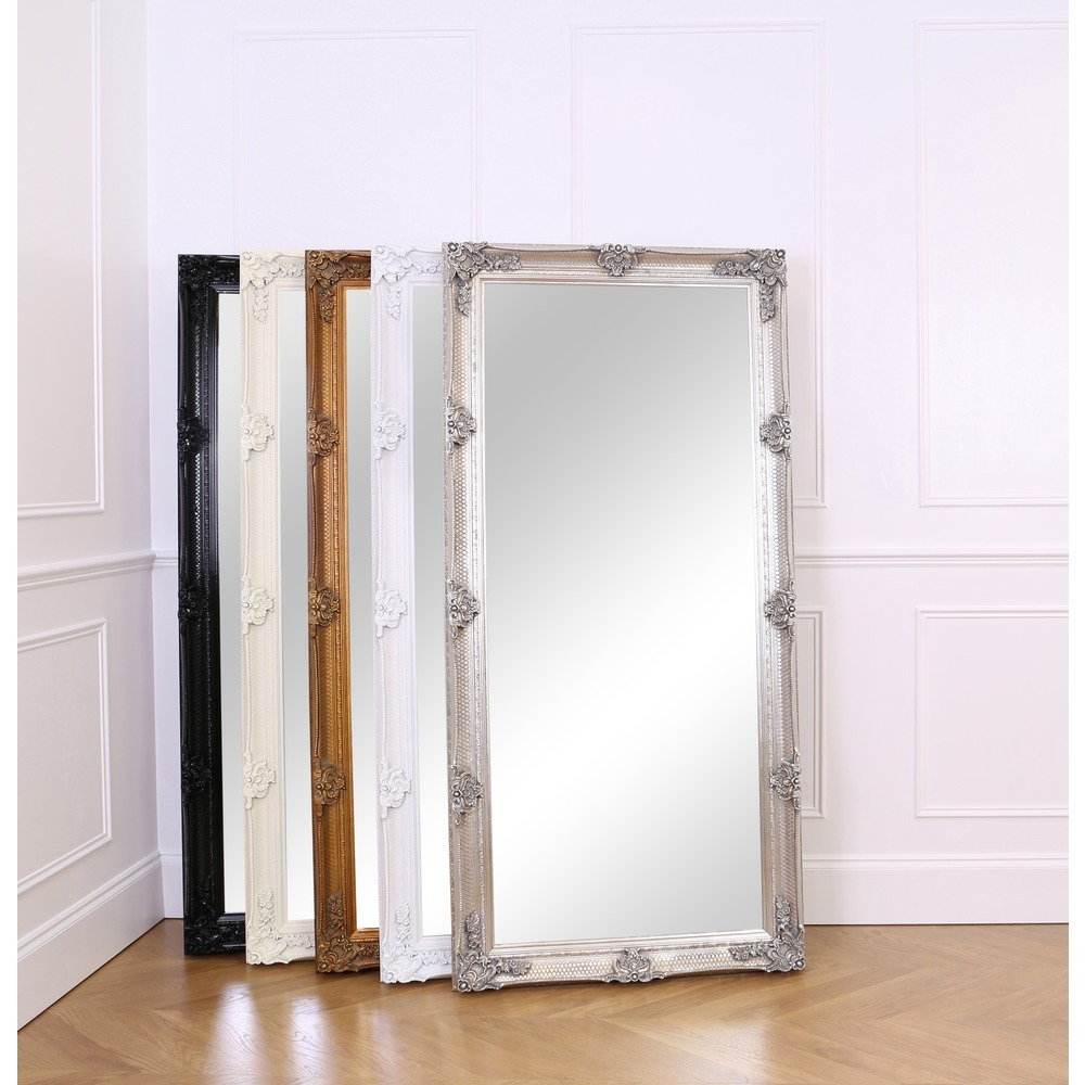 Abbey Leaner Mirror – Silver Leaf With Leaning Mirrors (View 4 of 30)
