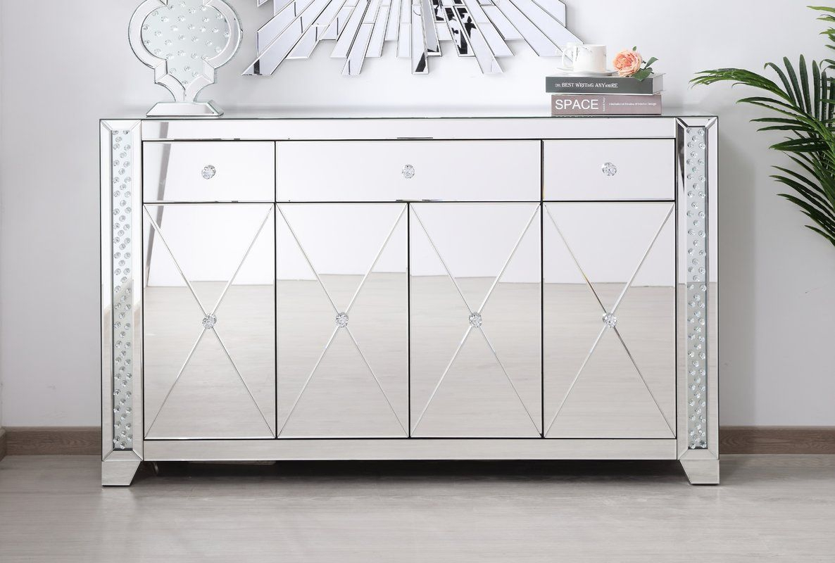 Abhinav Credenza | Home Decor In 2019 | Office Cabinets in Lainey Credenzas (Image 3 of 30)