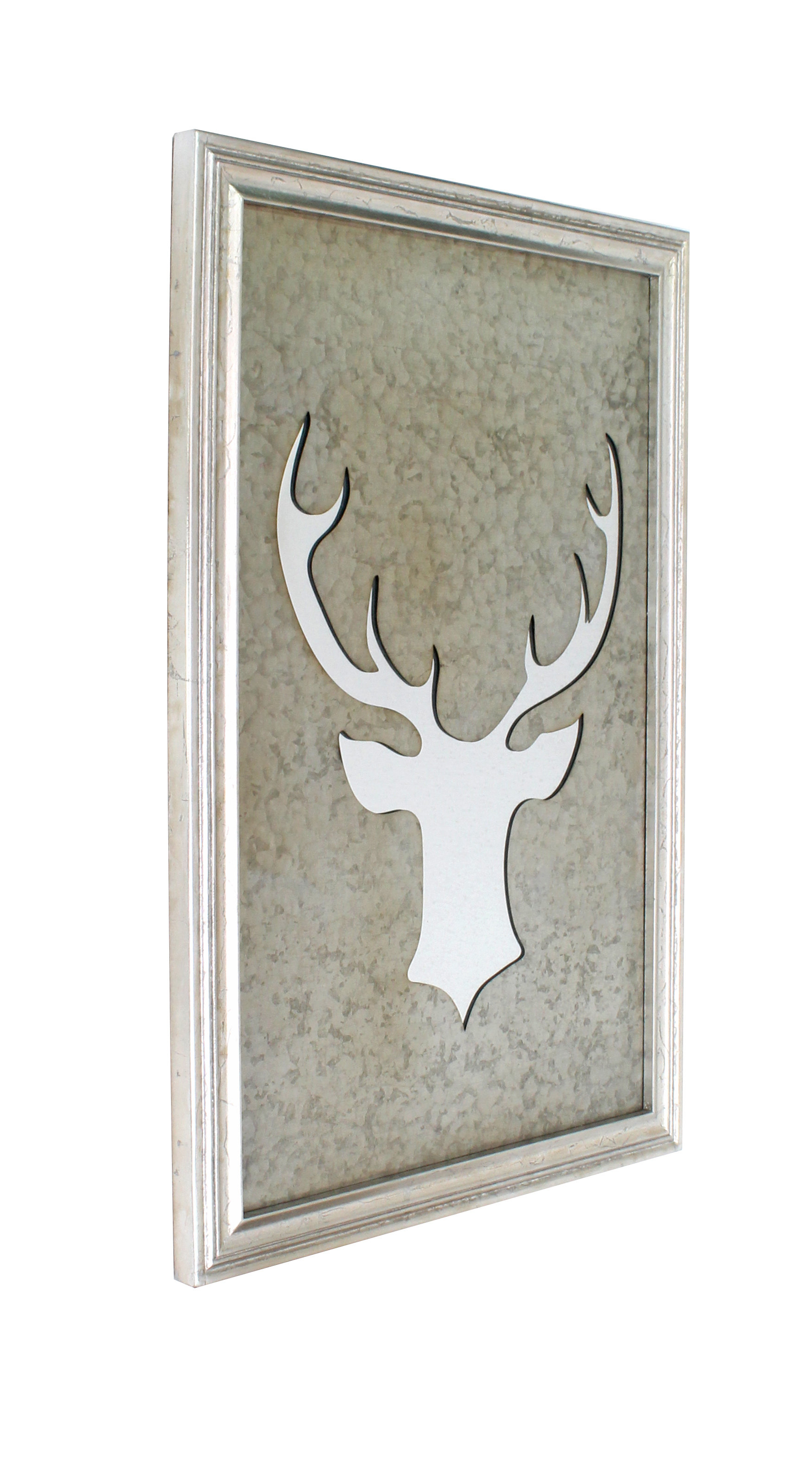 Abstract Mirror Wall Décor In 1 Piece Ortie Panel Wall Decor (View 6 of 30)