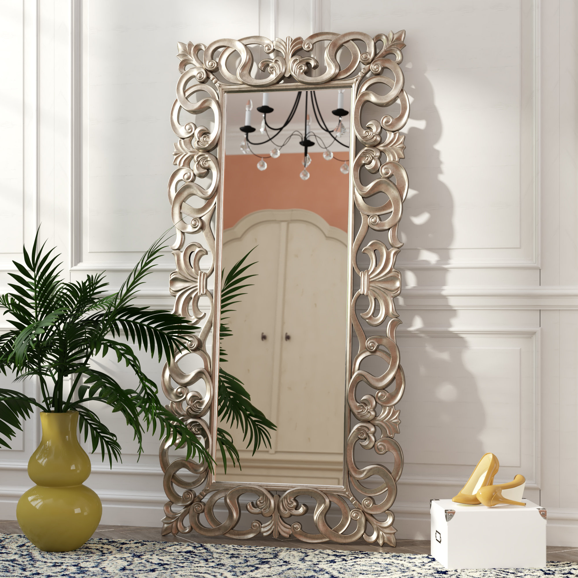 Accent Large & Oversized Mirrors You'll Love In 2019 | Wayfair for Bartolo Accent Mirrors (Image 1 of 30)