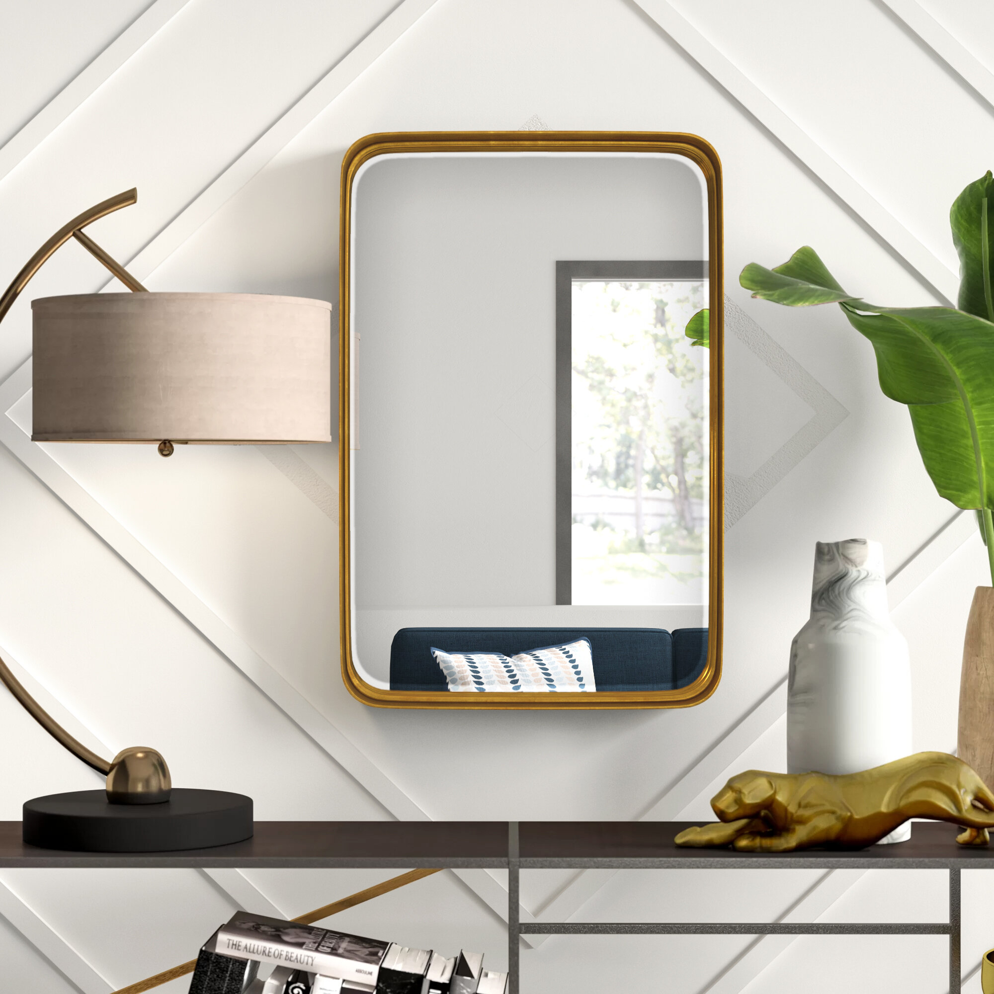 Accent Mirrors You'll Love In 2019 | Wayfair.ca throughout Rhein Accent Mirrors (Image 3 of 30)