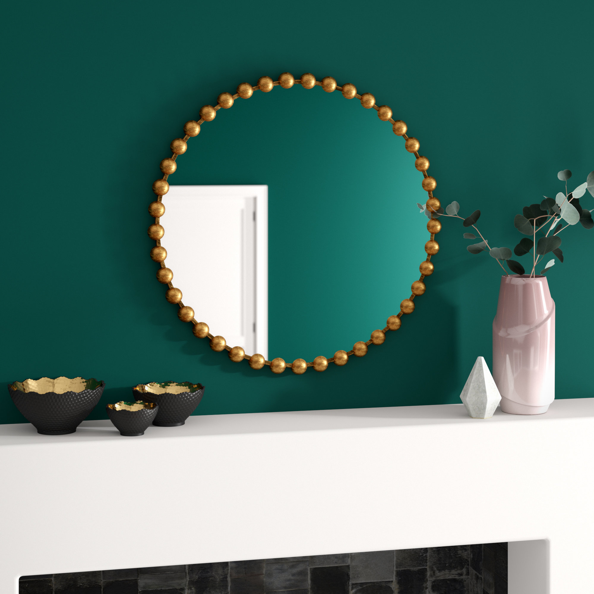 Accent Round Mirrors You'll Love In 2019 | Wayfair Regarding Trigg Accent Mirrors (View 11 of 30)