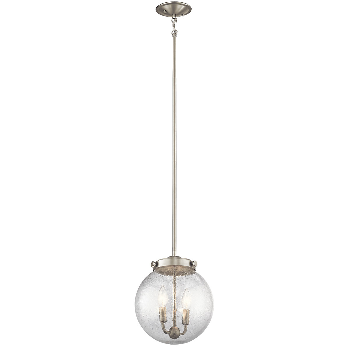 Adamell 1 Light Single Globe Pendant In Betsy 1 Light Single Globe Pendants (View 18 of 30)