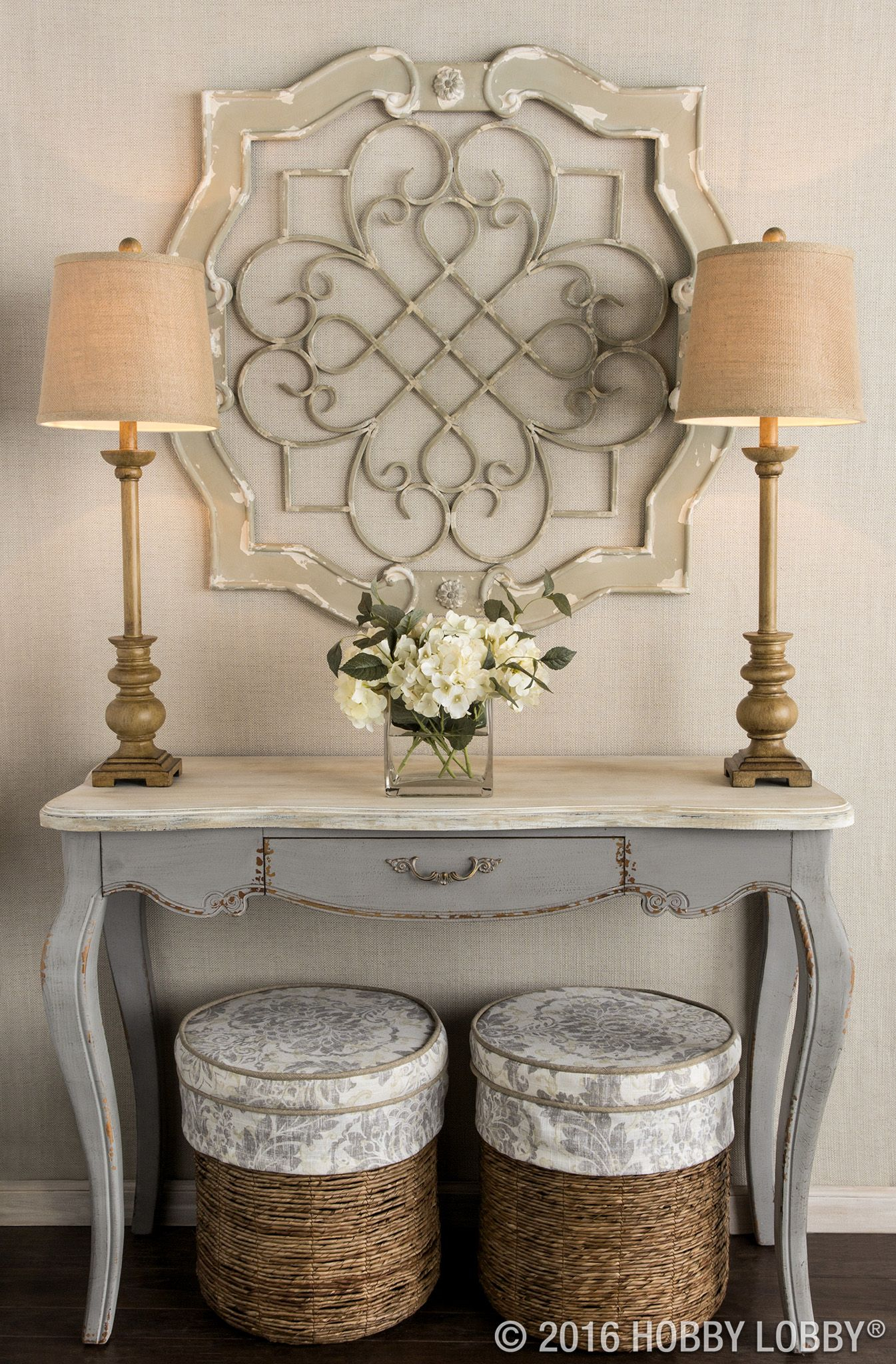 Add Architectural Elegance To Your Entryway With This intended for Small Medallion Wall Decor (Image 2 of 30)