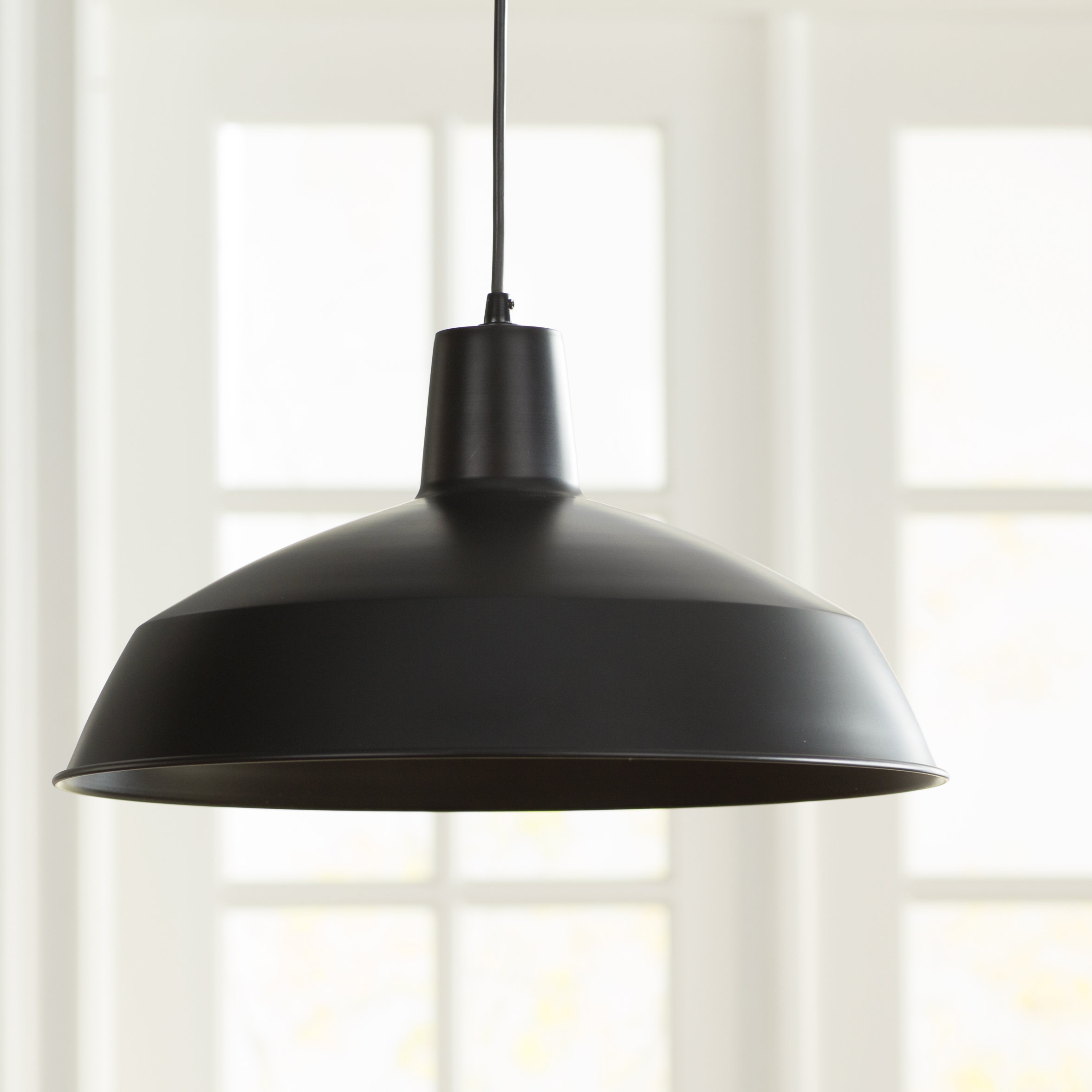 Adrianna 1 Light Single Dome Pendant Within Bryker 1 Light Single Bulb Pendants (View 10 of 30)