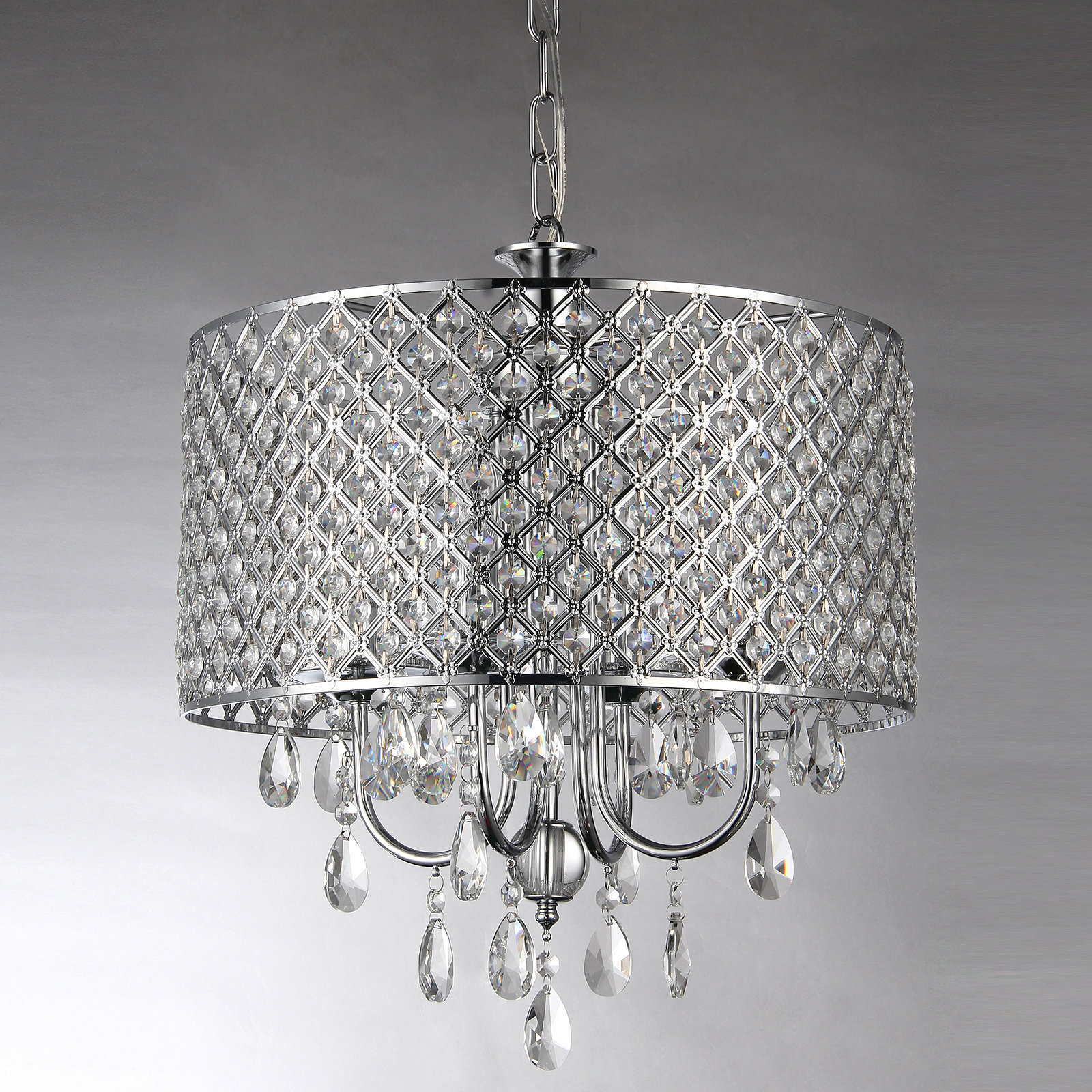 Afaura 4-Light Crystal Chandelier with regard to Sinead 4-Light Chandeliers (Image 1 of 30)