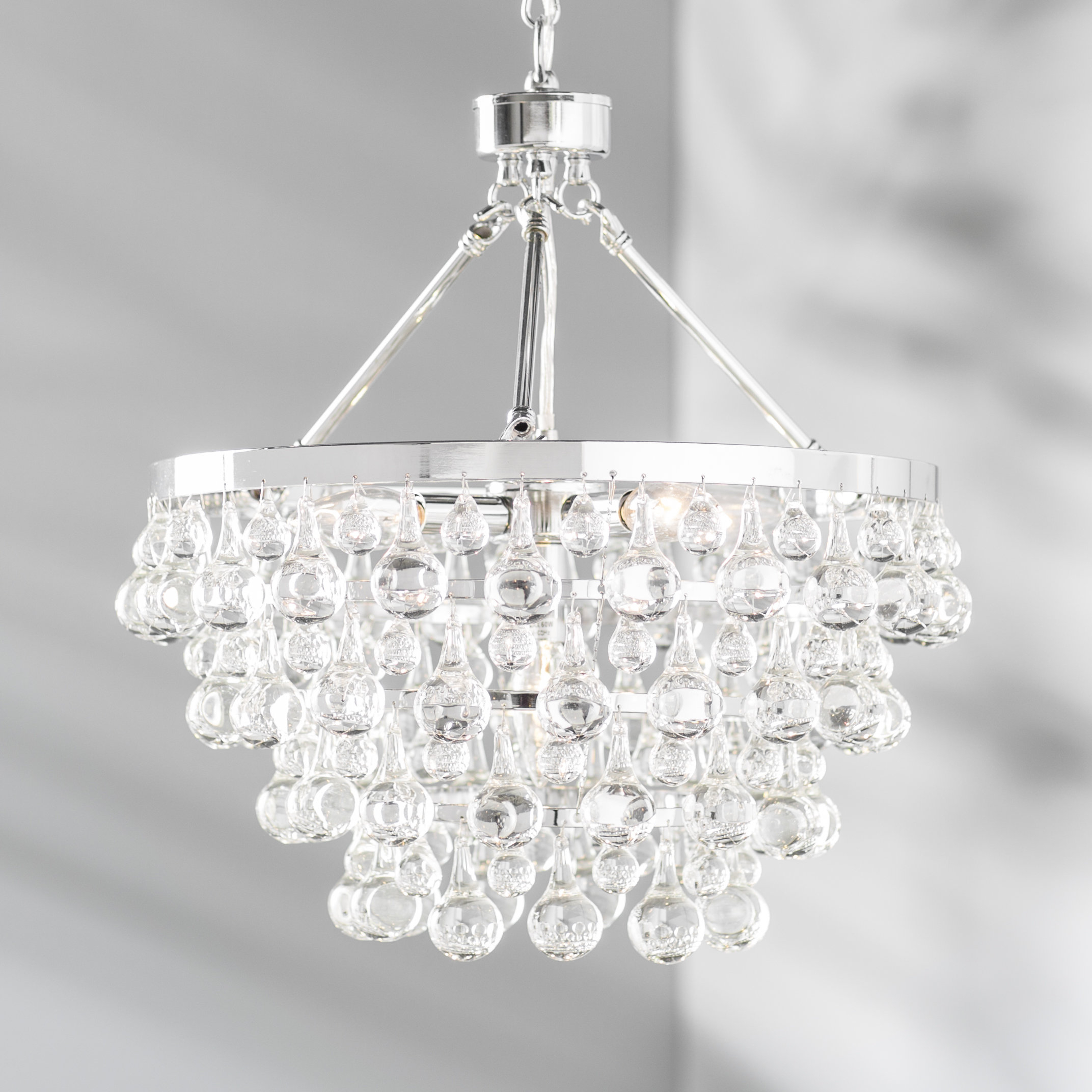 Ahern 5 Light Crystal Chandelier With Clea 3 Light Crystal Chandeliers (View 7 of 30)