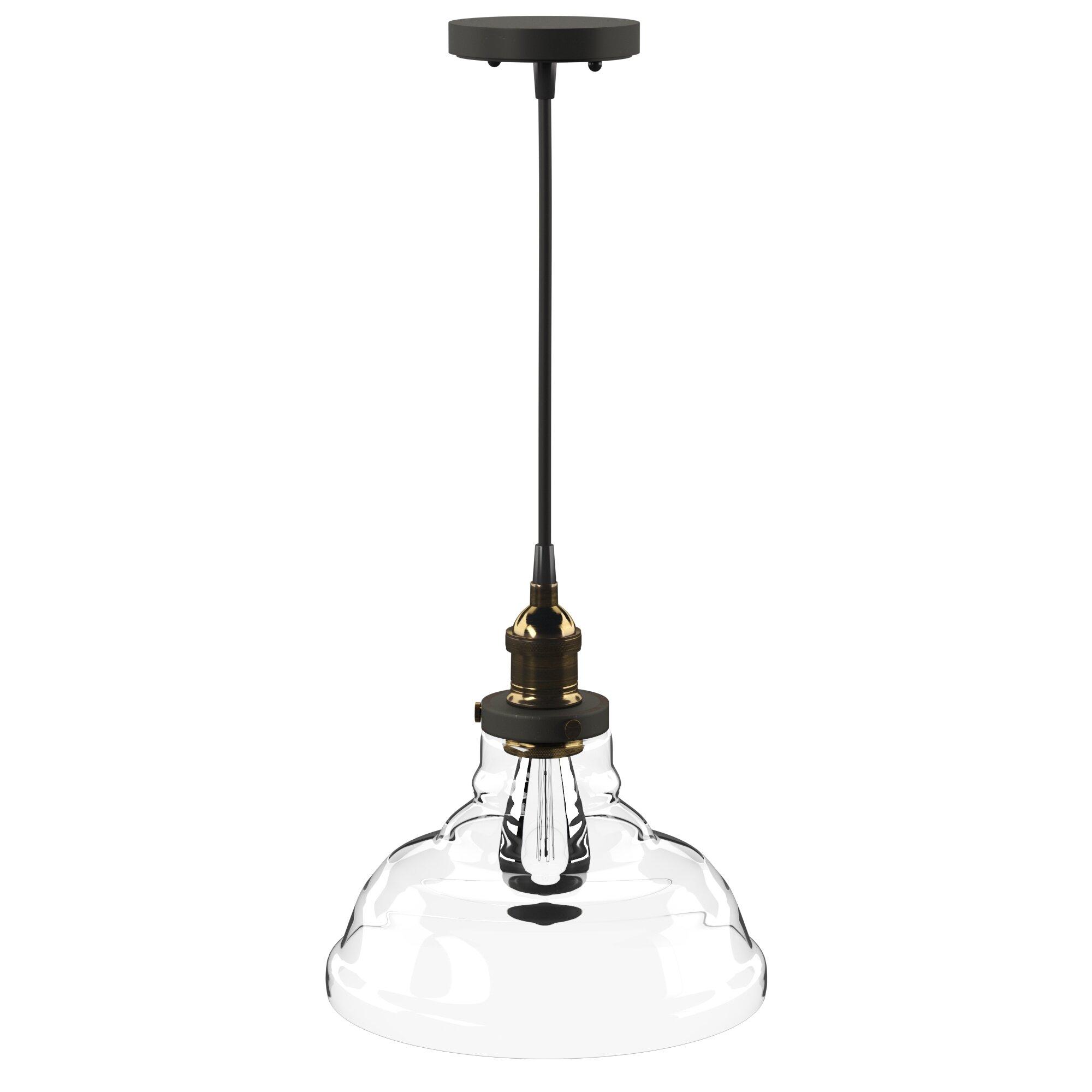 Akakios 1 Light Single Bell Pendant In 1 Light Single Bell Pendants (View 3 of 30)
