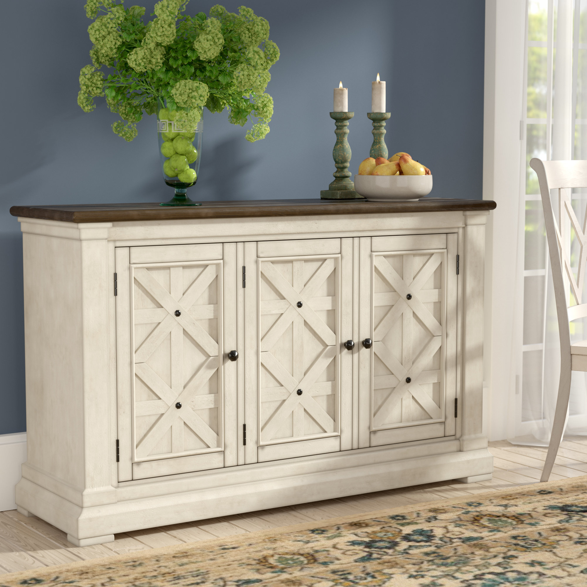 Alcott Hill Marsha Sideboard & Reviews | Wayfair With Regard To Rutherford Sideboards (View 11 of 30)