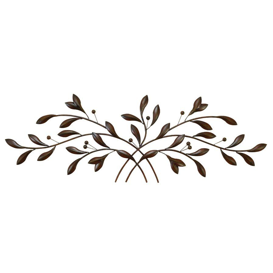 Alcott Hill Raheem Flowers Metal Wall Décor In 2019 Throughout Metal Leaf Wall Decor By Red Barrel Studio (View 2 of 30)