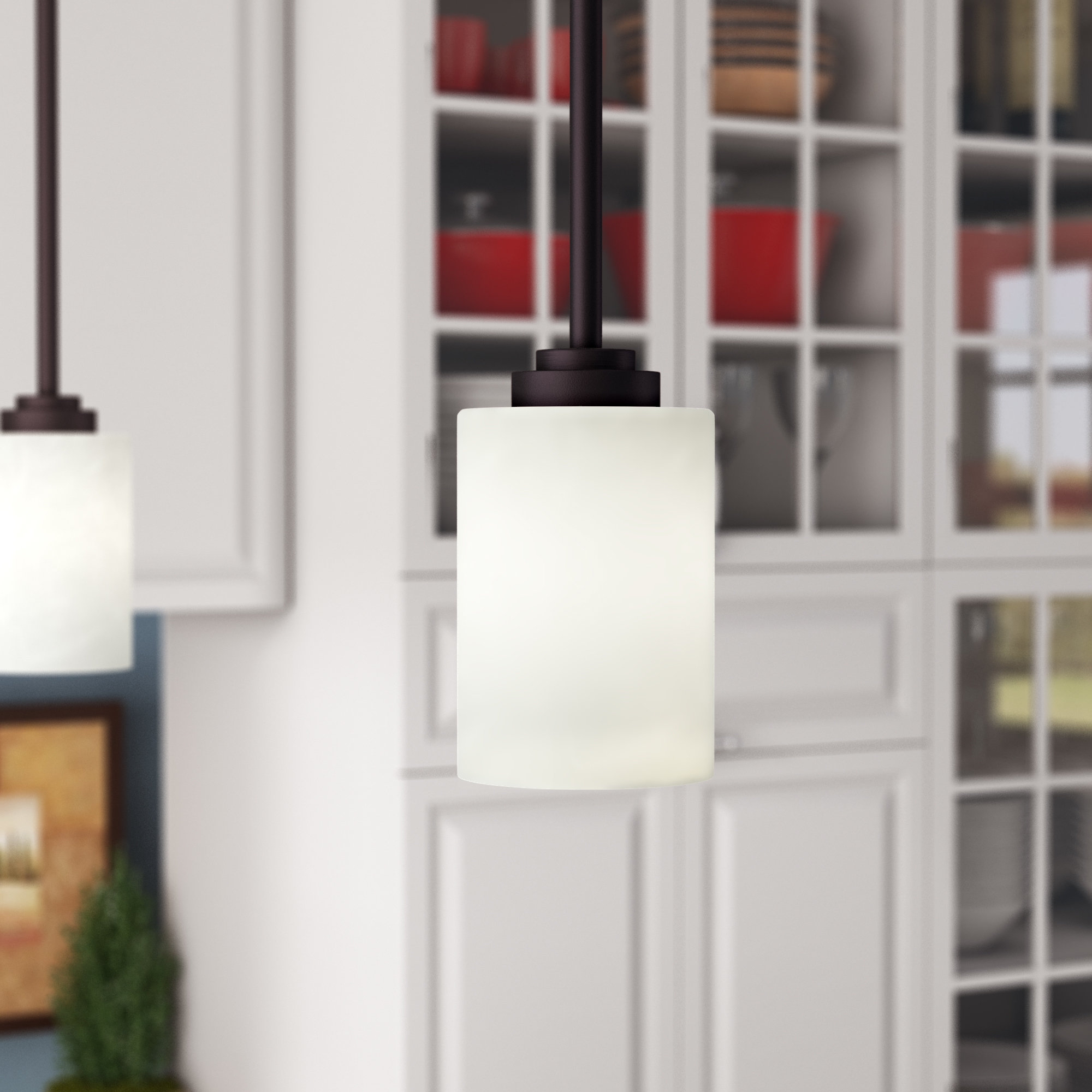 Alica 1 Light Single Cylinder Pendant Within Guro 1 Light Cone Pendants (View 3 of 30)