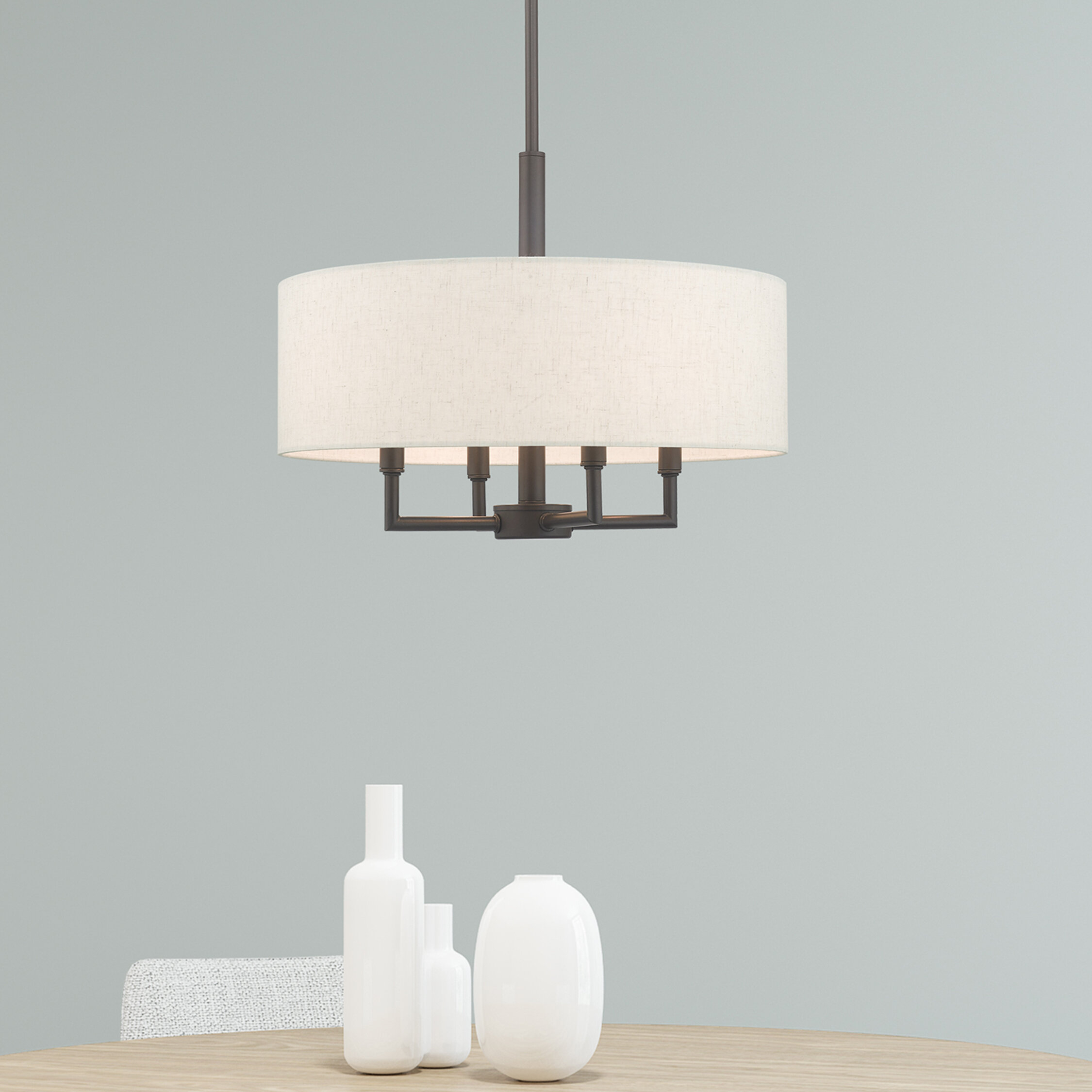 Alina 4 Light Drum Chandelier Pertaining To Wadlington 6 Light Single Cylinder Pendants (View 16 of 30)