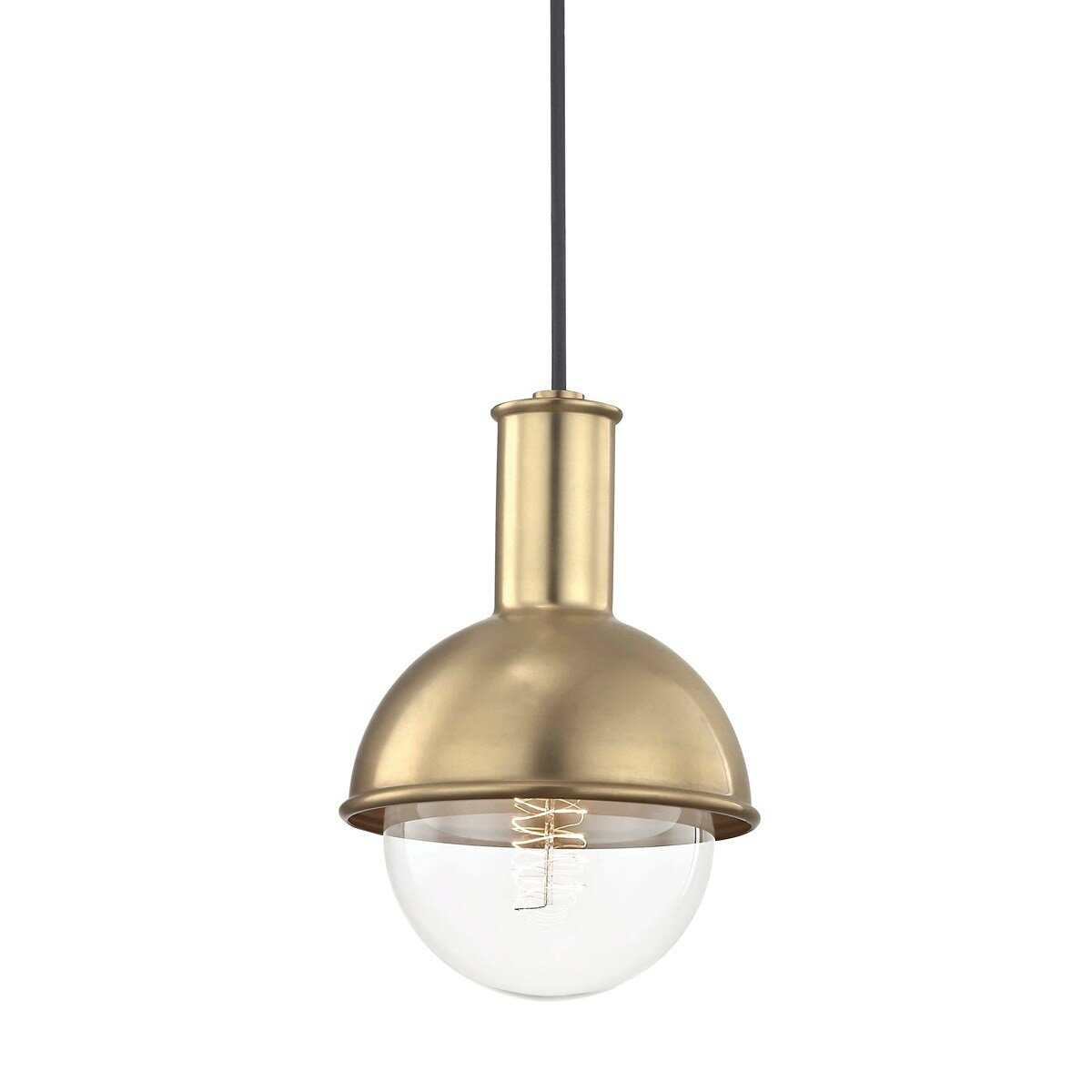 Altamirano 1 Light 60w Inverted Pendant Within Devereaux 1 Light Single Globe Pendants (View 22 of 30)