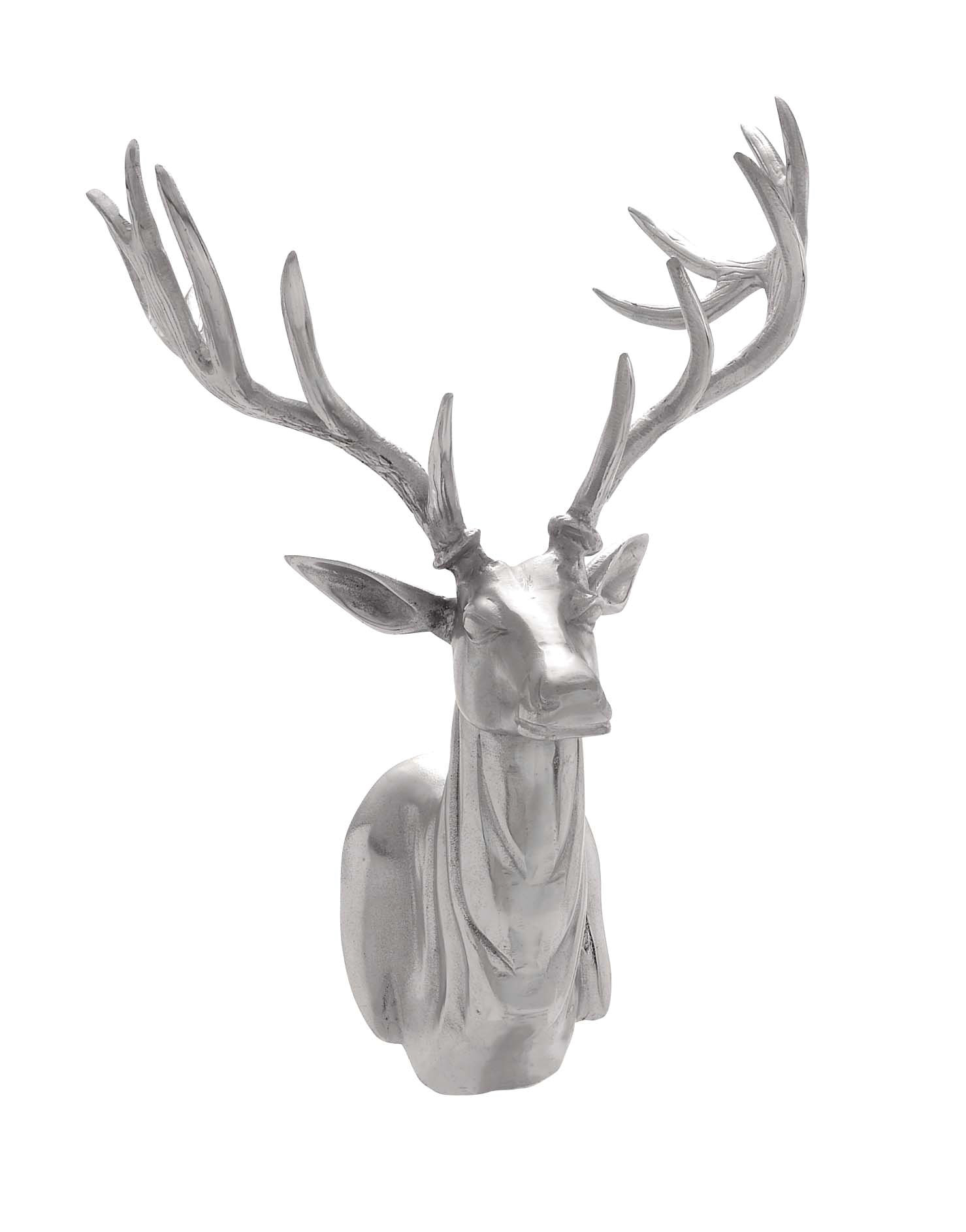 Aluminum Trophy Head Wall Décor Intended For Highlands Ranch The Templeton Wall Decor (View 8 of 30)
