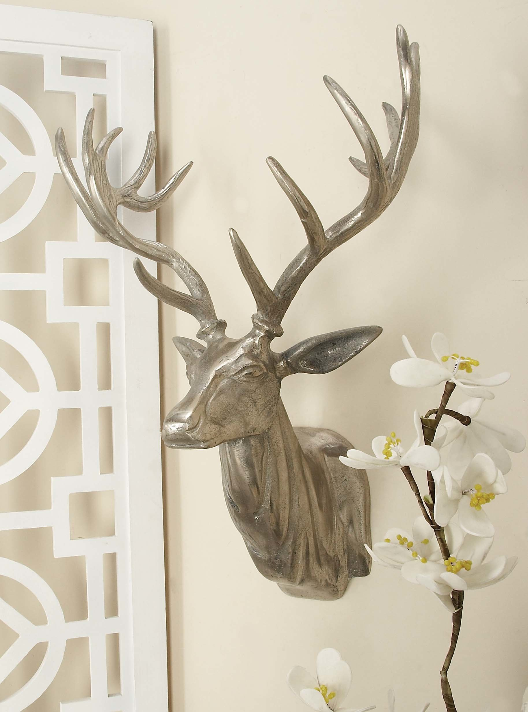 Aluminum Trophy Head Wall Décor With Regard To Highlands Ranch The Templeton Wall Decor (View 9 of 30)