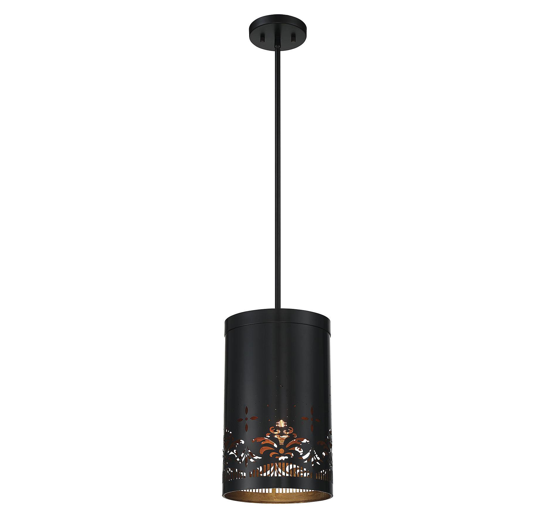 Alvarez 1-Light Mini Pendant within Alverez 4-Light Drum Chandeliers (Image 1 of 30)