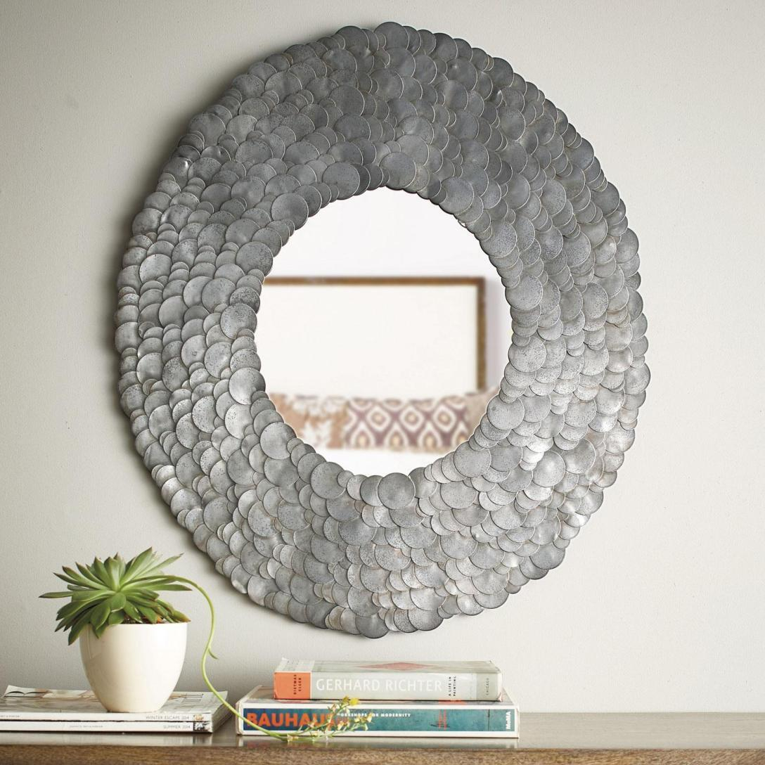 Amazing Scalloped Wall Mirror – Powerfulpizza.club throughout Dariel Tall Arched Scalloped Wall Mirrors (Image 2 of 30)