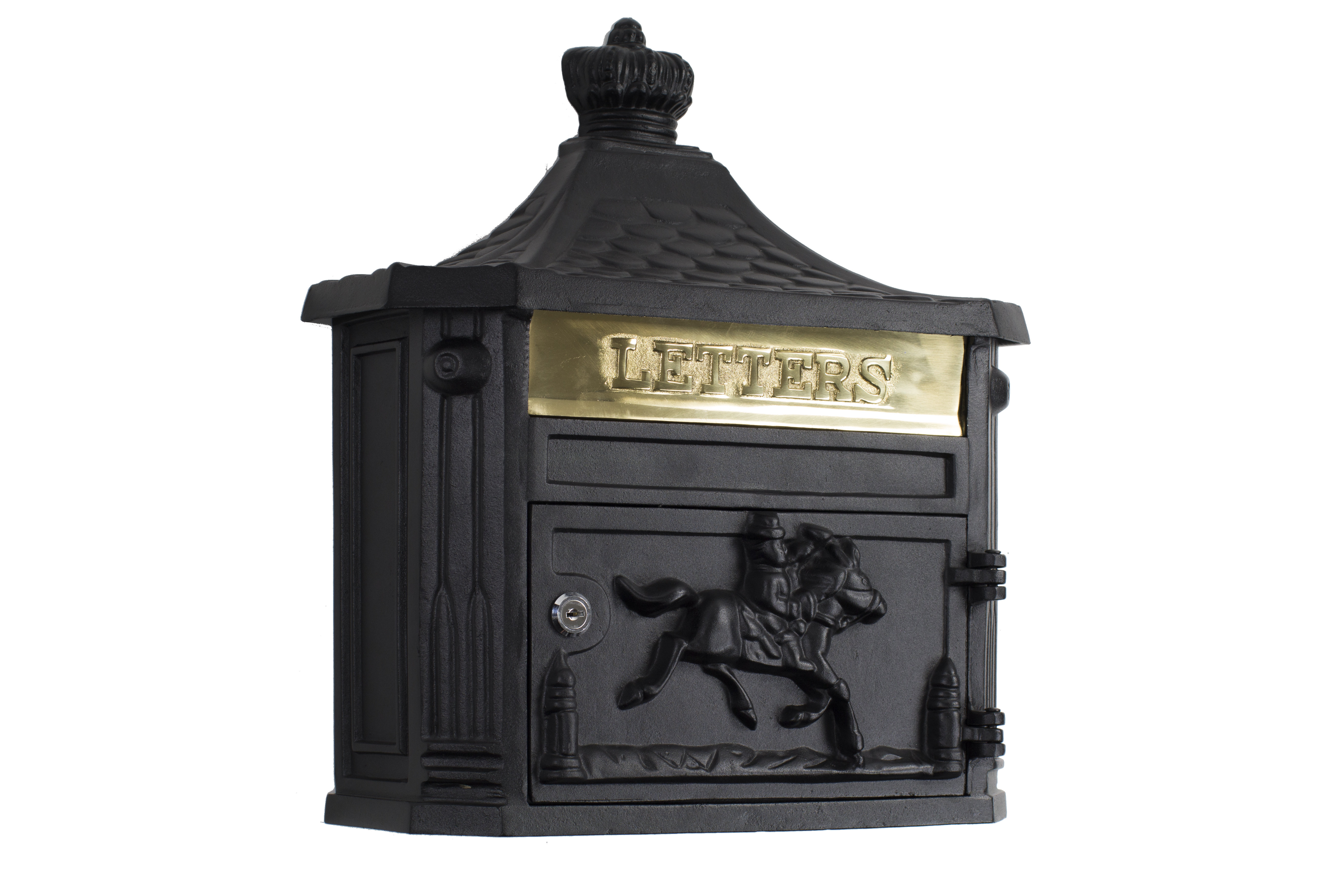 Amco Mailboxes Victorian Locking Wall Mounted Mailbox Pertaining To Lacordaire Wall Mounted Mailbox (View 20 of 30)