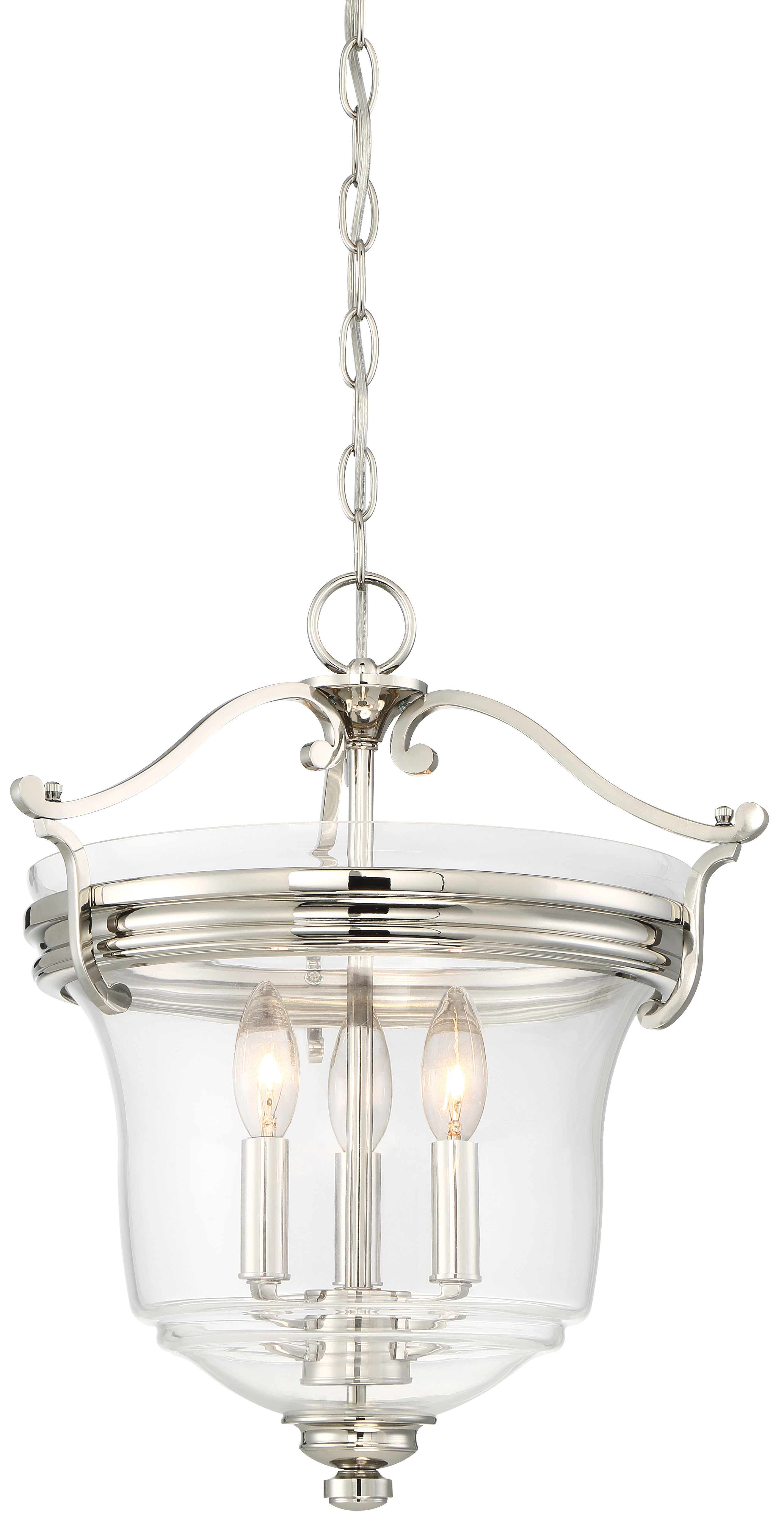 Ameche 3-Light Single Urn Pendant for 3-Light Single Urn Pendants (Image 5 of 30)